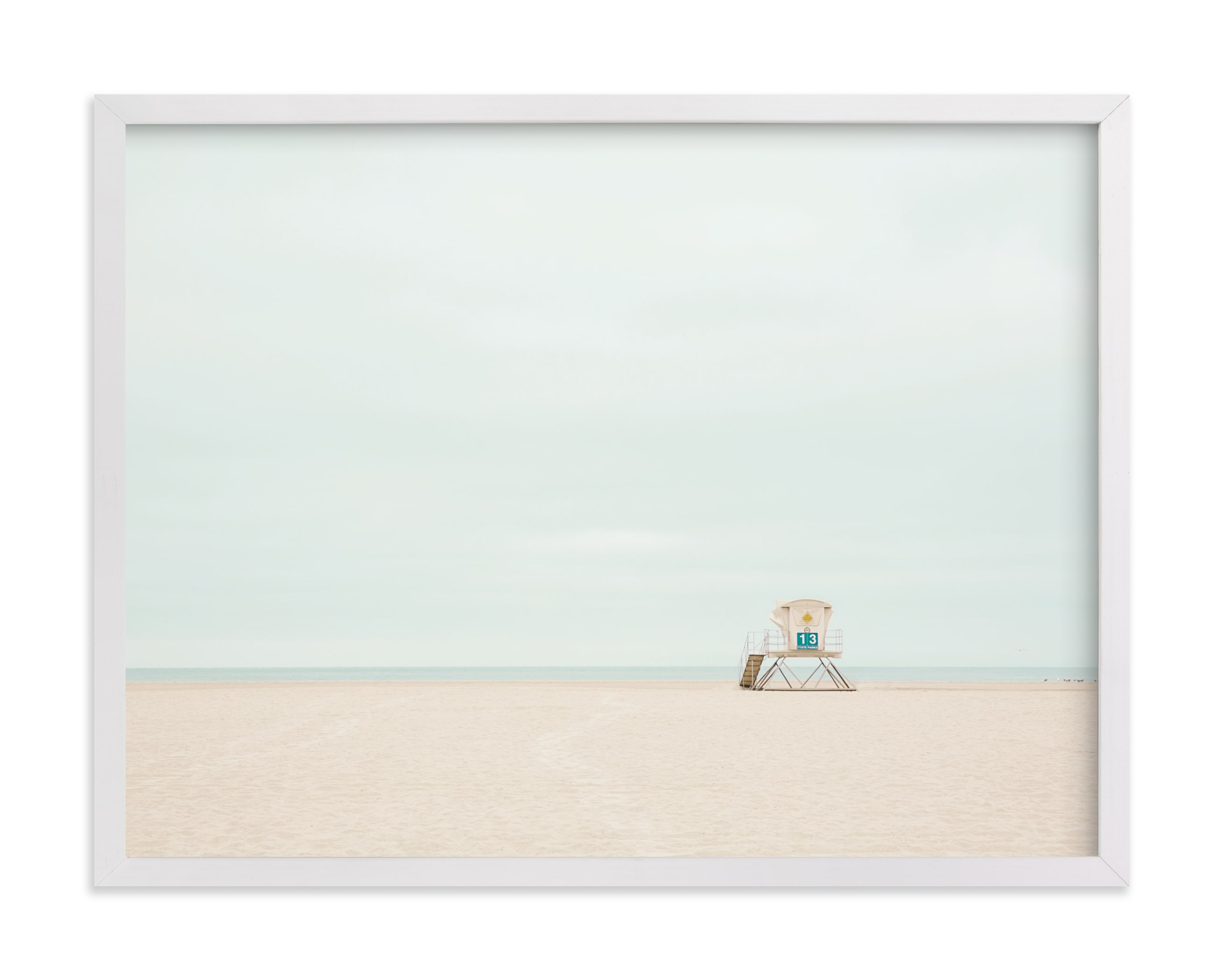 """""""Tower 13"""" - Limited Edition Art Print by Three Kisses Studio in beautiful frame options and a variety of sizes."""