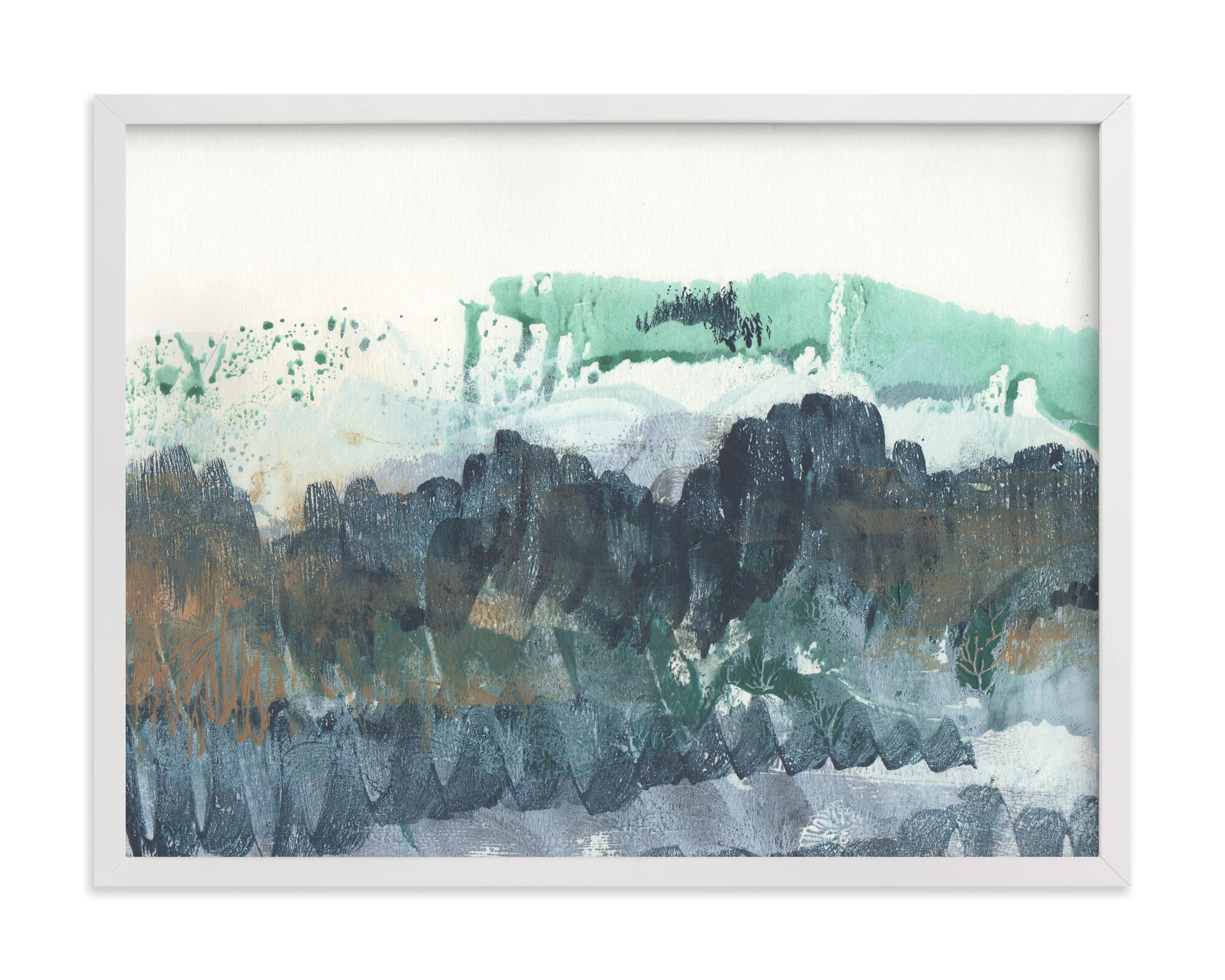 """""""Scape of the Land """" - Limited Edition Art Print by Jennifer Daily in beautiful frame options and a variety of sizes."""