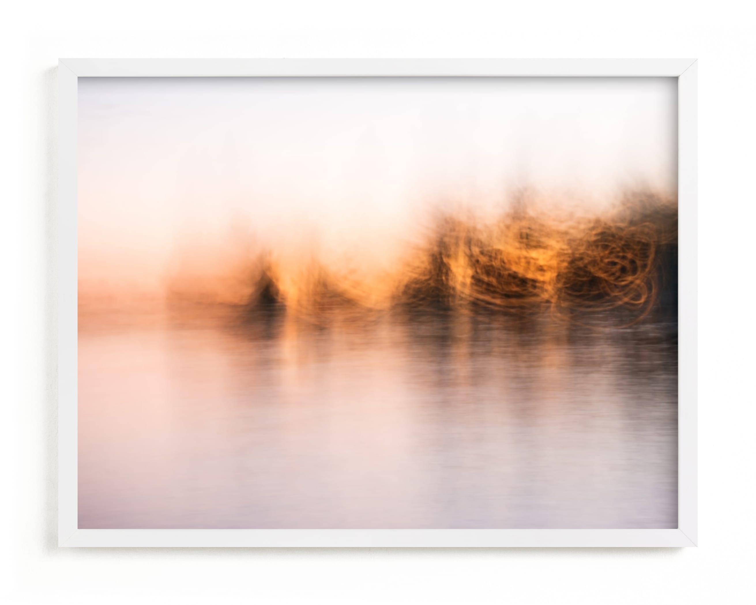 Lake dreams Art Print