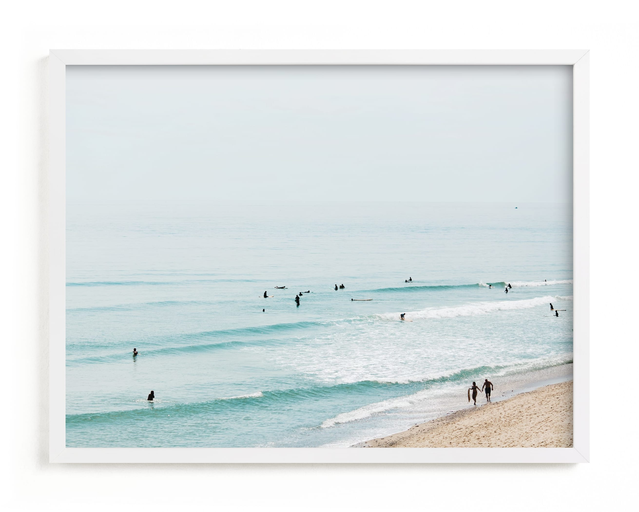 """""""Beach Summer Blues"""" - Limited Edition Art Print by Helen Makadia Photography in beautiful frame options and a variety of sizes."""