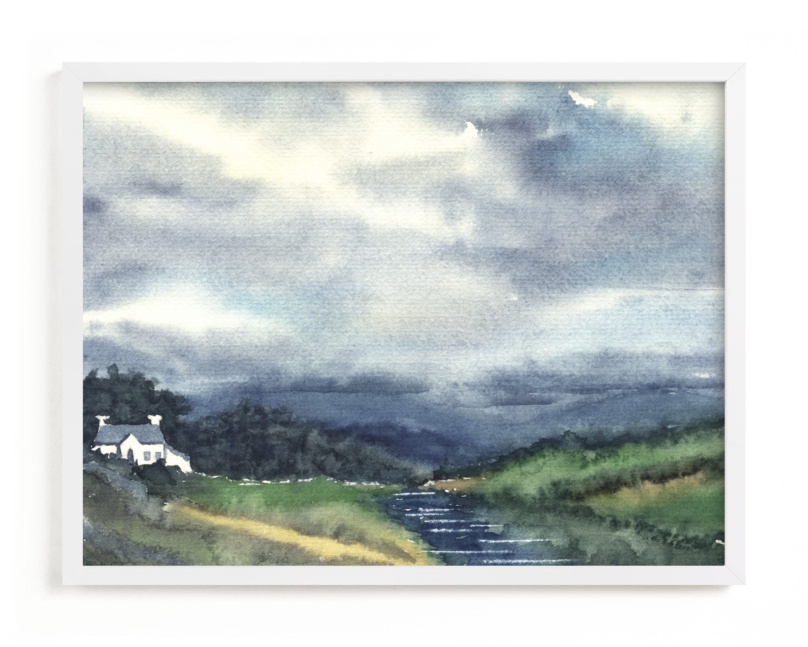 """""""Cloud Symphony Donegal Ireland"""" - Limited Edition Art Print by Eva Marion in beautiful frame options and a variety of sizes."""