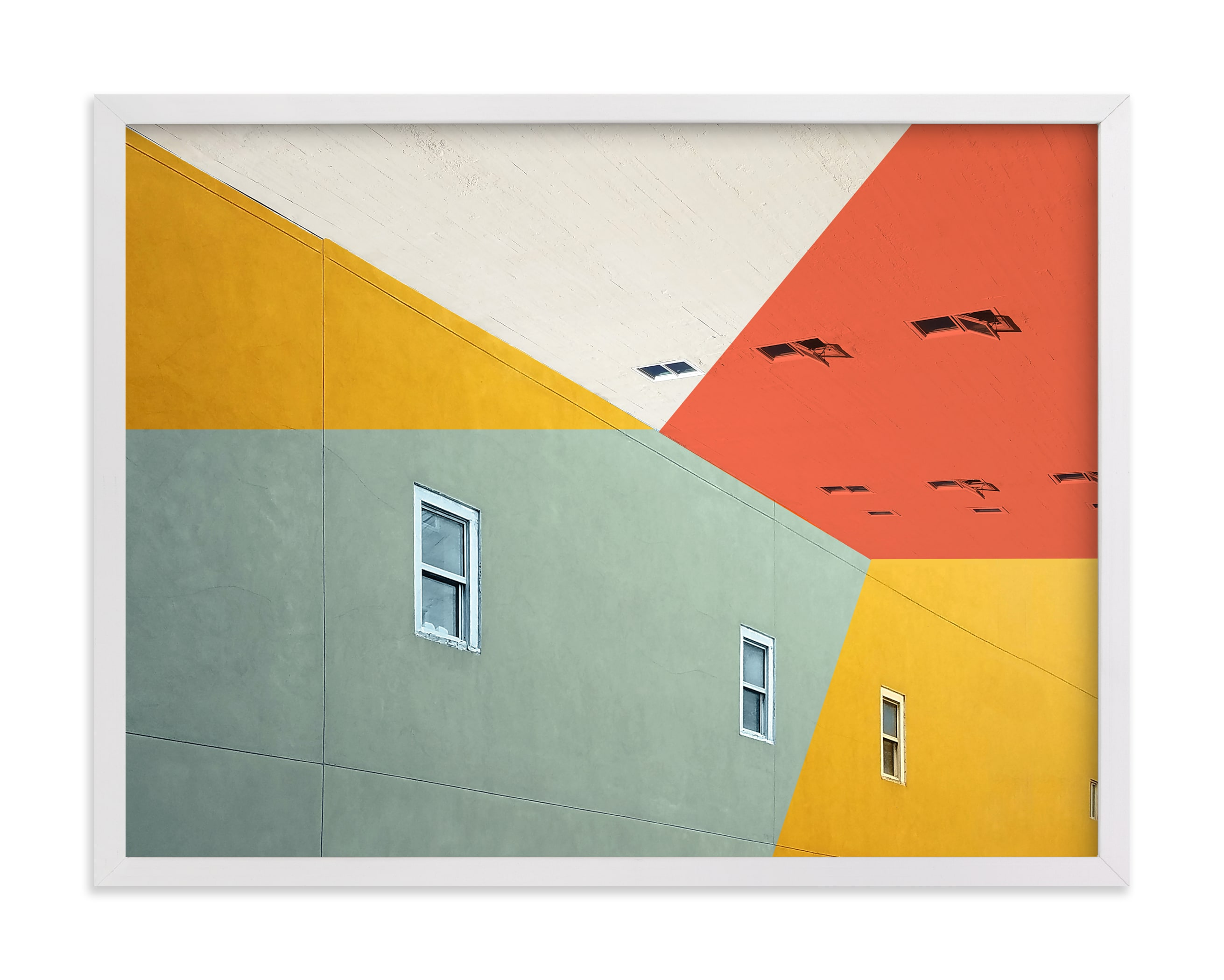 """""""Sodapop Block"""" - Limited Edition Art Print by Kimberly Young in beautiful frame options and a variety of sizes."""