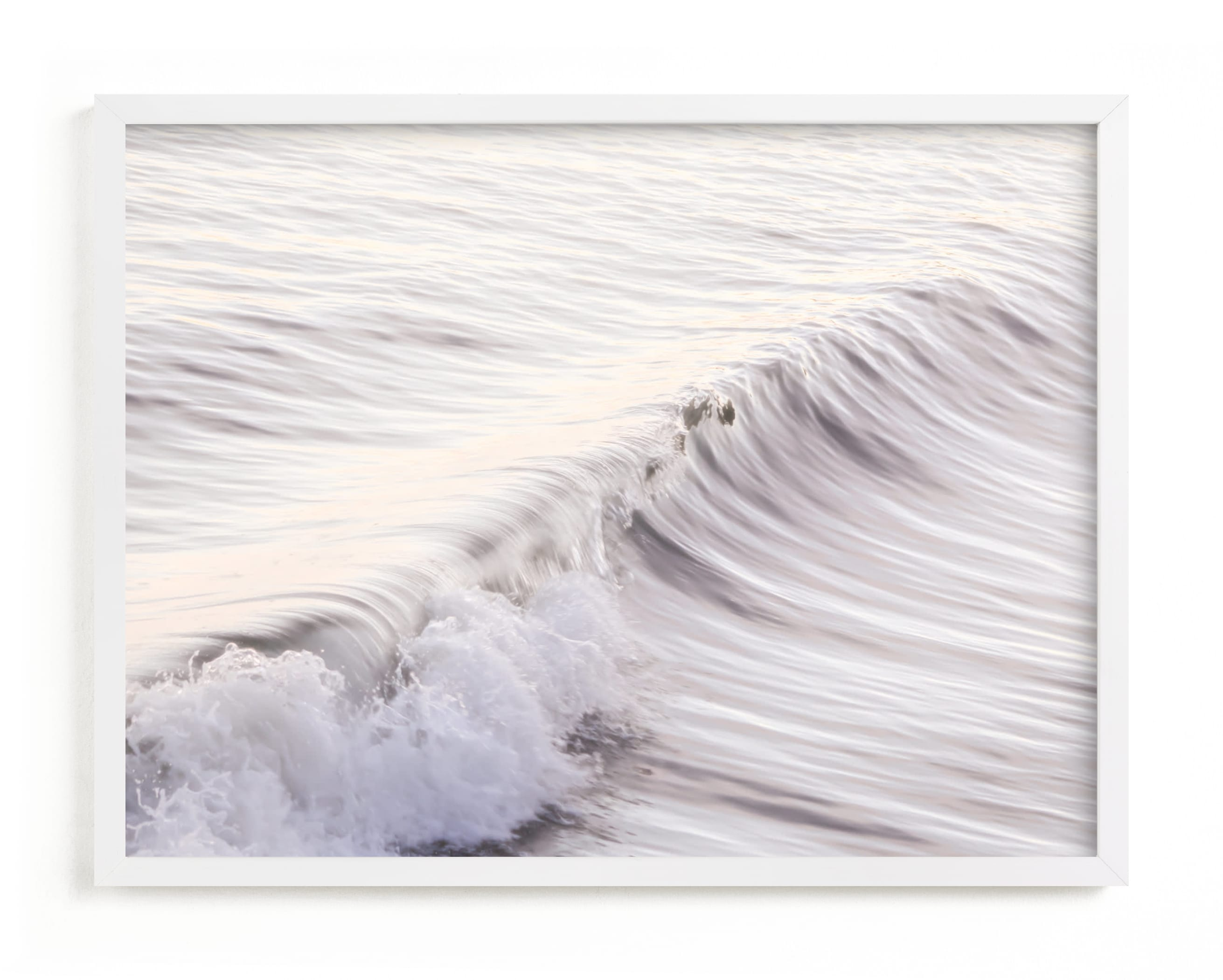 """Cayucos Soft Waves "" - Limited Edition Art Print by Lisa Sundin in beautiful frame options and a variety of sizes."
