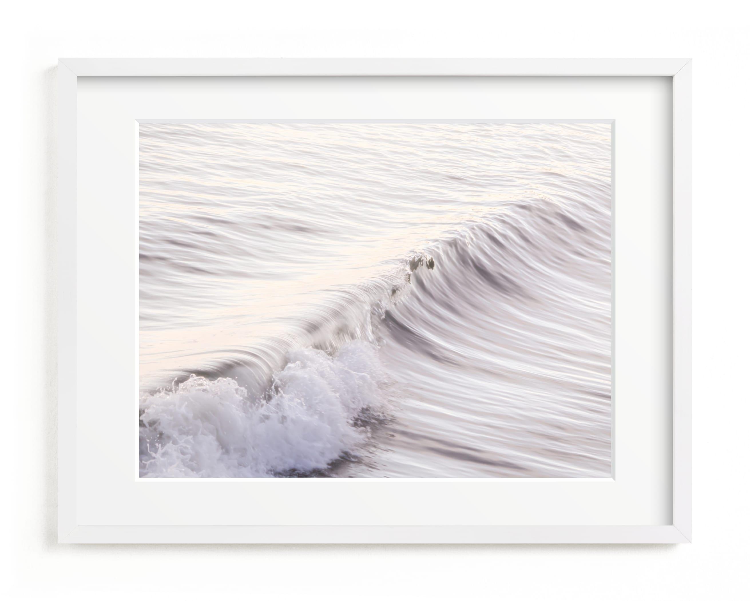 Cayucos Soft Waves Art Print