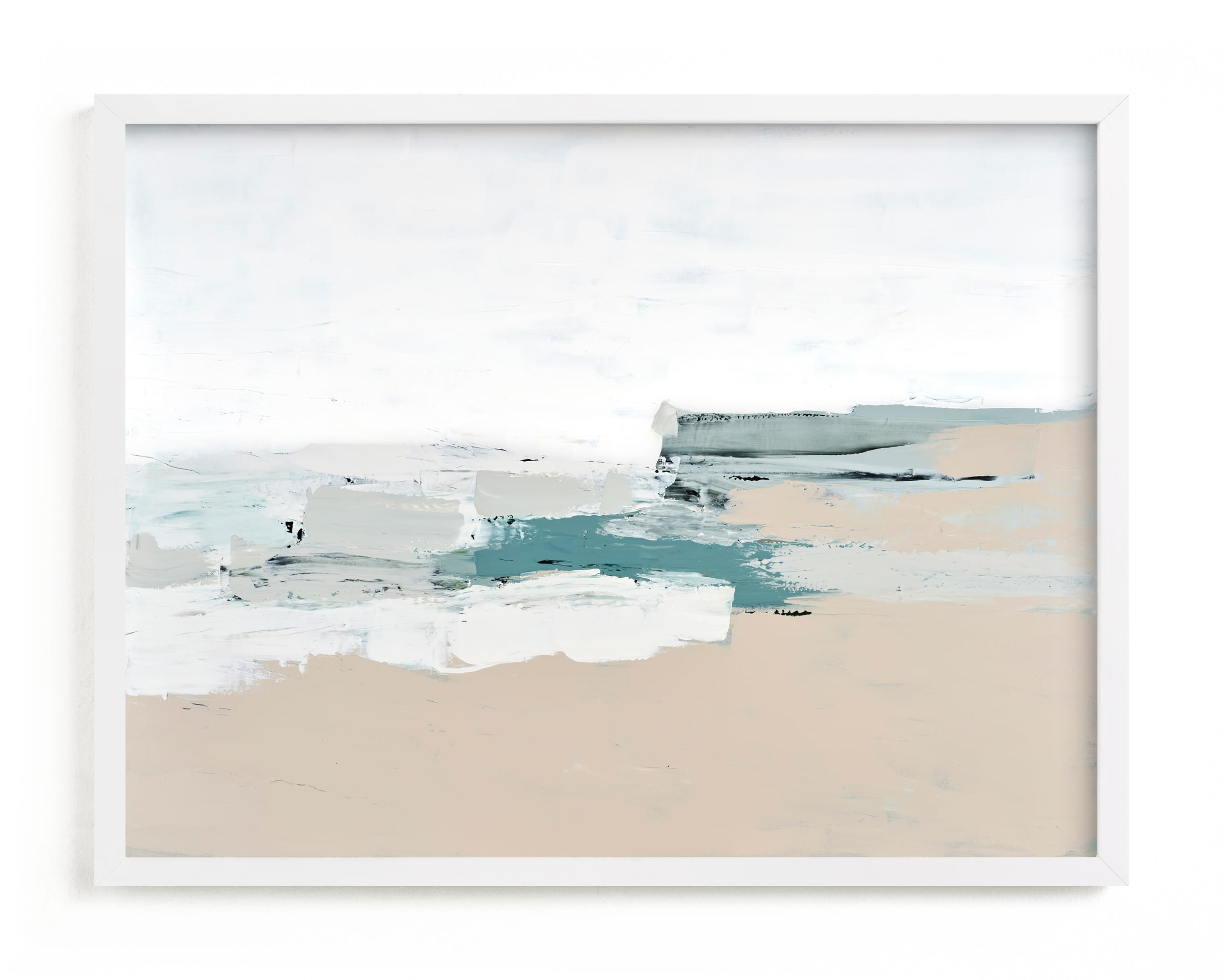 """""""Whitecaps"""" - Grownup Open Edition Non-custom Art Print by Caryn Owen in beautiful frame options and a variety of sizes."""