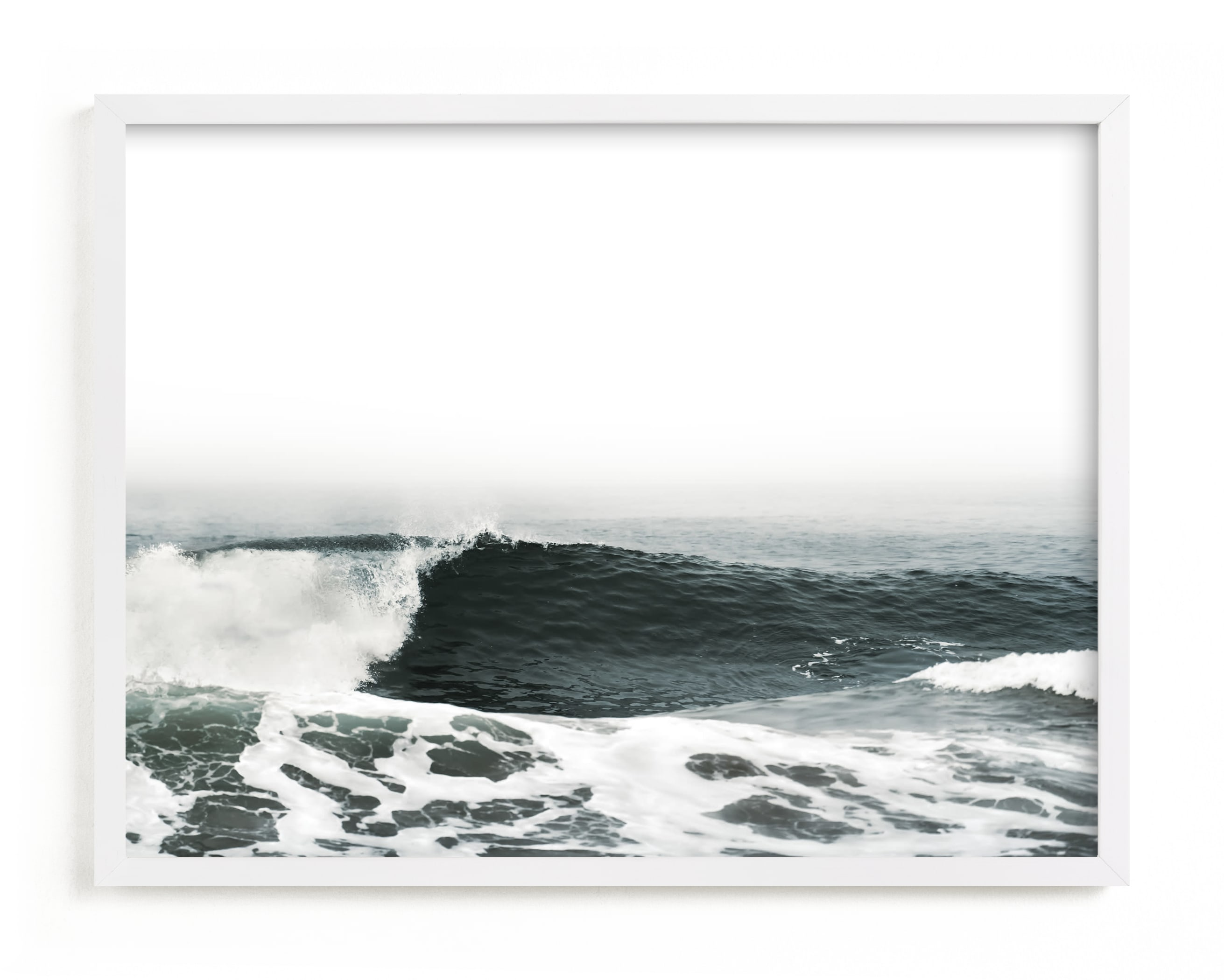 """""""Mariner's Muse 2"""" - Art Print by Kamala Nahas in beautiful frame options and a variety of sizes."""