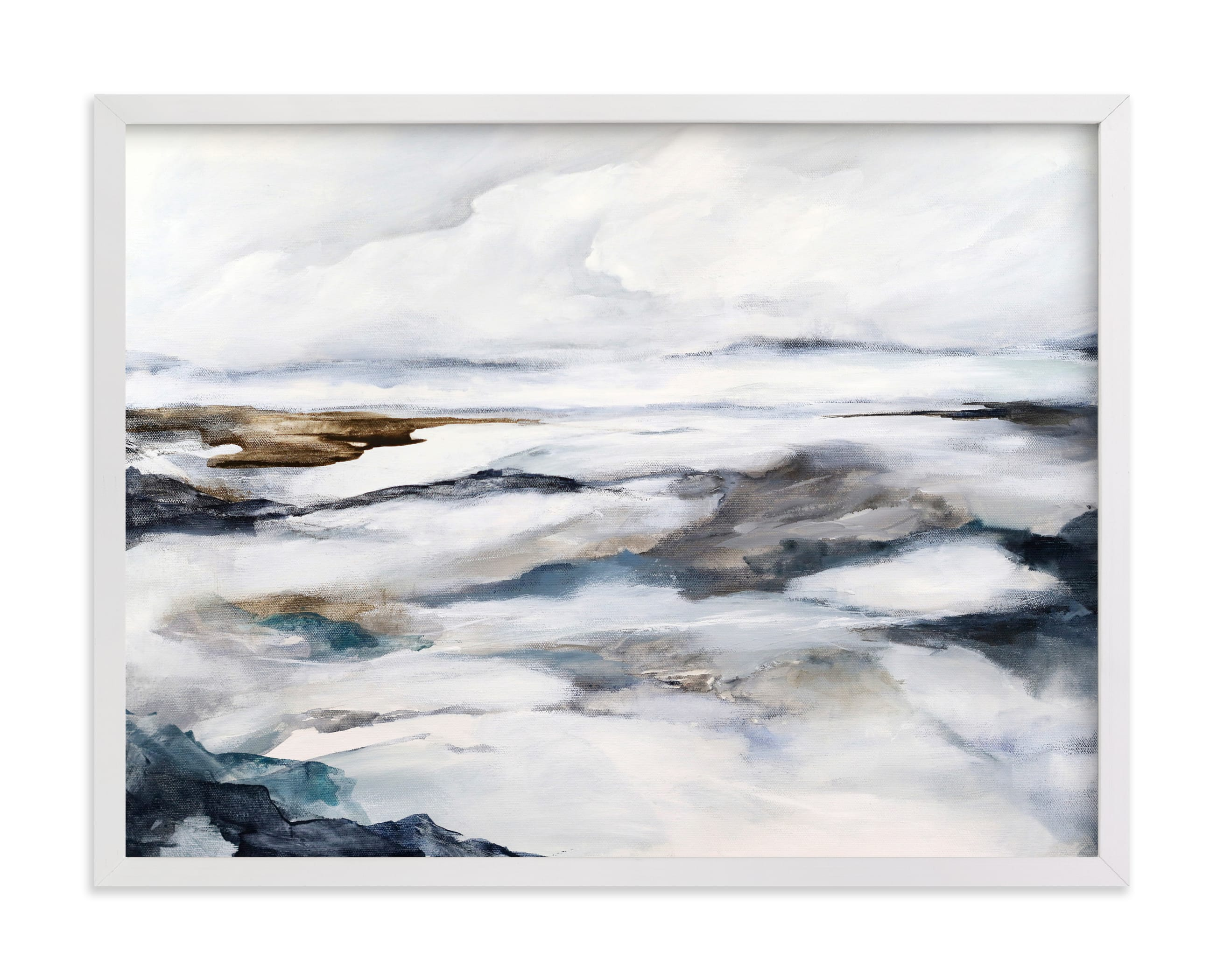 """""""Arctic Spring"""" by Mya Bessette in beautiful frame options and a variety of sizes."""