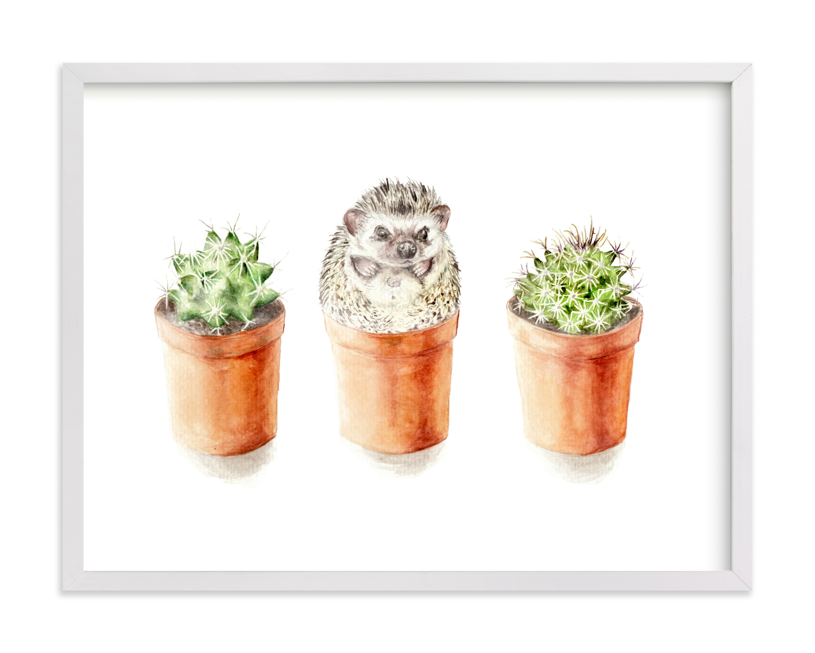 """""""One of These Things is Not Like theOther"""" by Lauren Rogoff in beautiful frame options and a variety of sizes."""