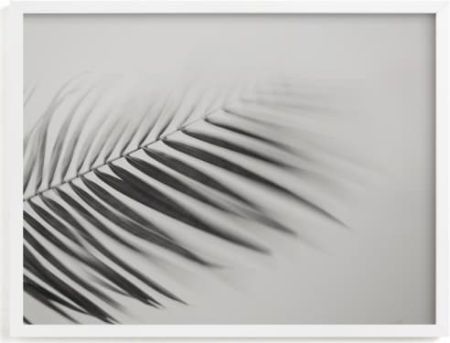 This is a black and white art by Tania Medeiros called Sketching Breeze.