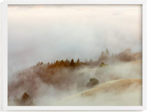 This is a brown art by Tania Medeiros called Summer Fog.