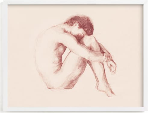 This is a beige art by Marta González called Classic Body.