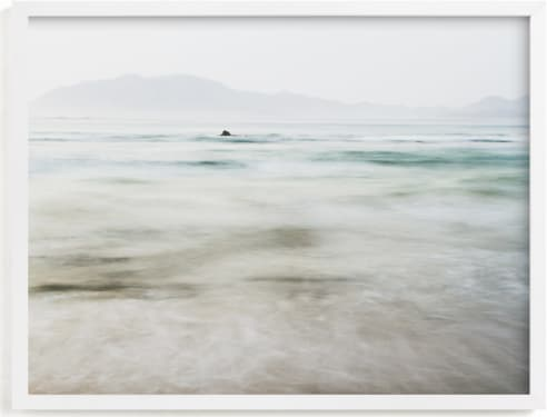 This is a grey art by Kaitlin Rebesco called the pacific.