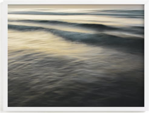 This is a brown art by Tal Paz-Fridman called The Uniqueness of Waves XXVI.