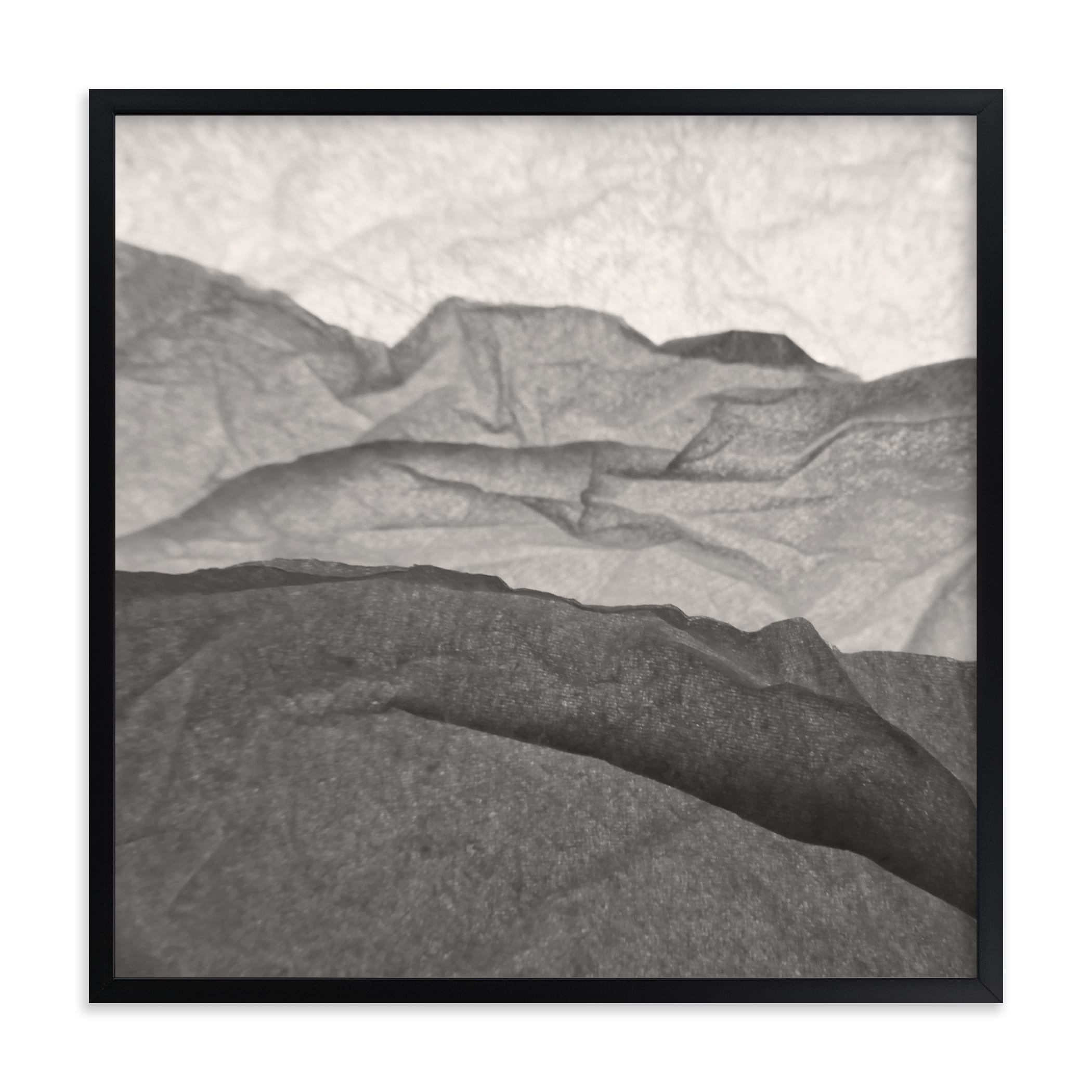 """""""Paper Napkin Panorama III"""" - Limited Edition Art Print by Shannon Kohn in beautiful frame options and a variety of sizes."""