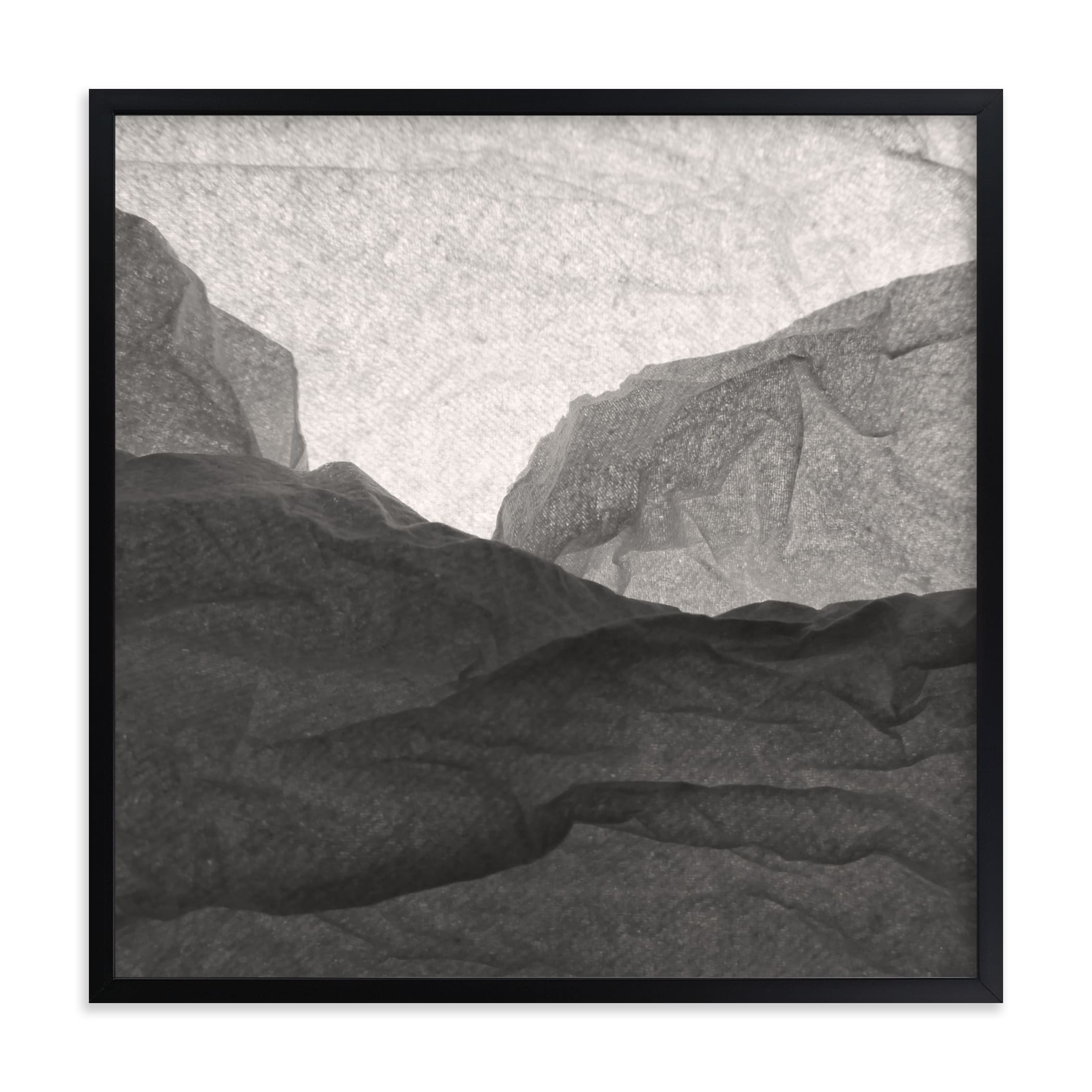 """""""Paper Napkin Panorama I"""" - Limited Edition Art Print by Shannon Kohn in beautiful frame options and a variety of sizes."""