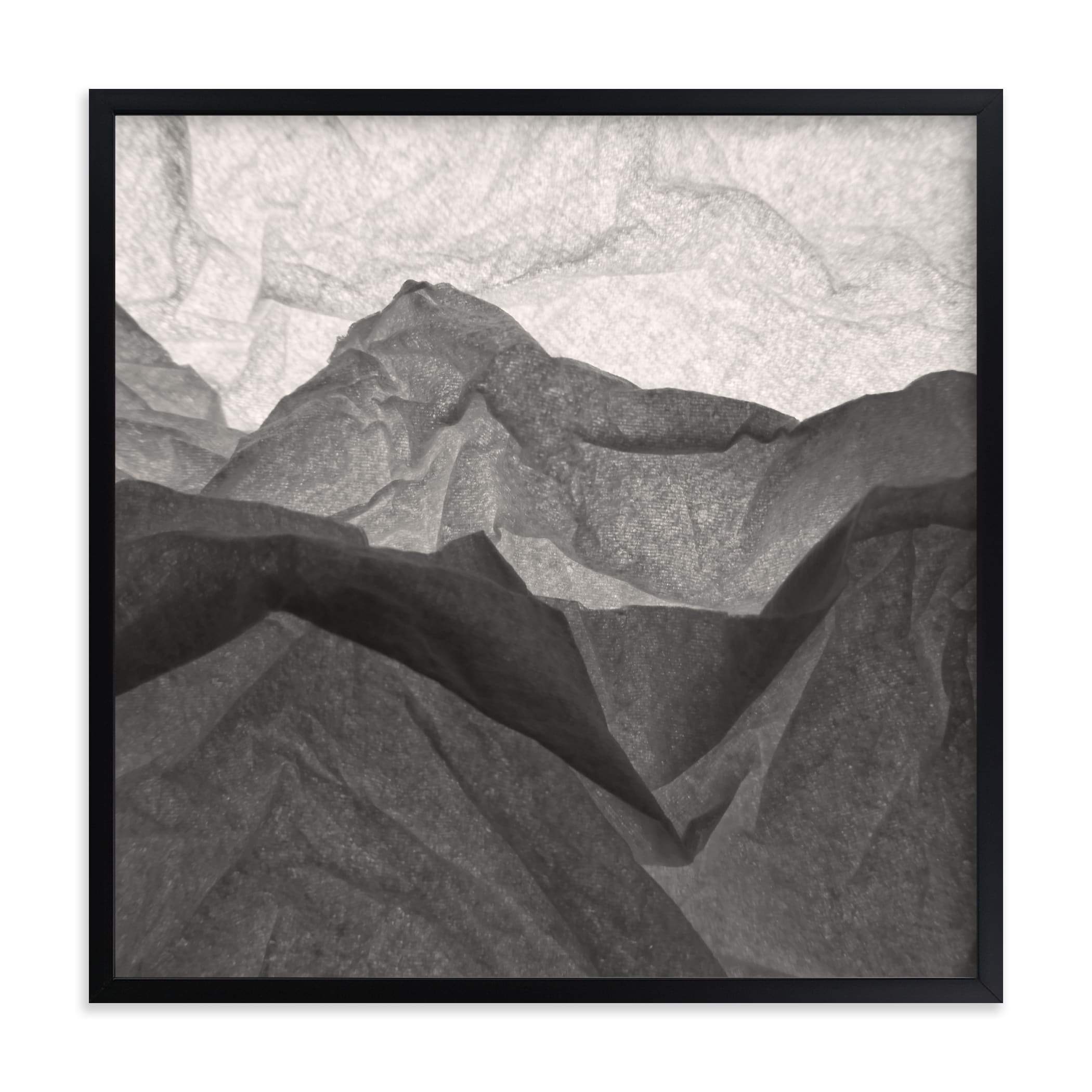 """""""Paper Napkin Panorama II"""" - Limited Edition Art Print by Shannon Kohn in beautiful frame options and a variety of sizes."""