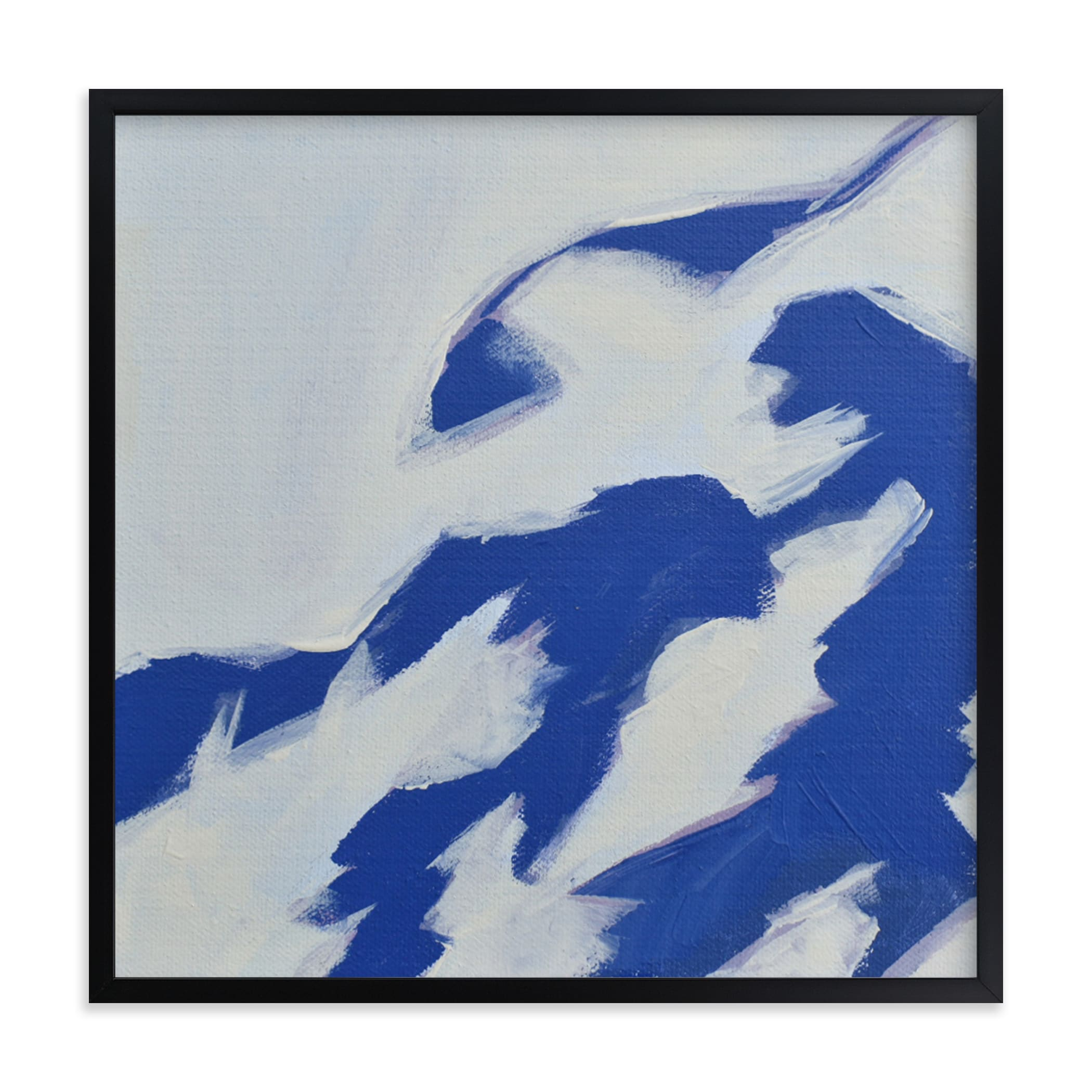"""""""Leaf Shadows I"""" - Limited Edition Art Print by Katie Analise in beautiful frame options and a variety of sizes."""