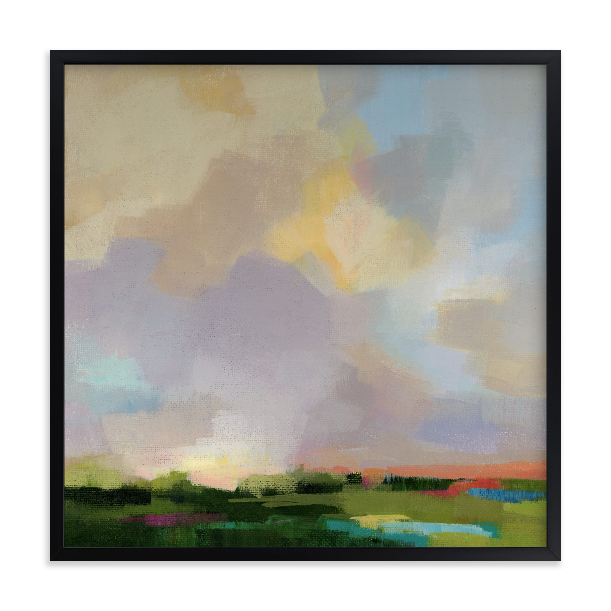 """""""After The Storm"""" - Grownup Open Edition Non-custom Art Print by sue prue in beautiful frame options and a variety of sizes."""