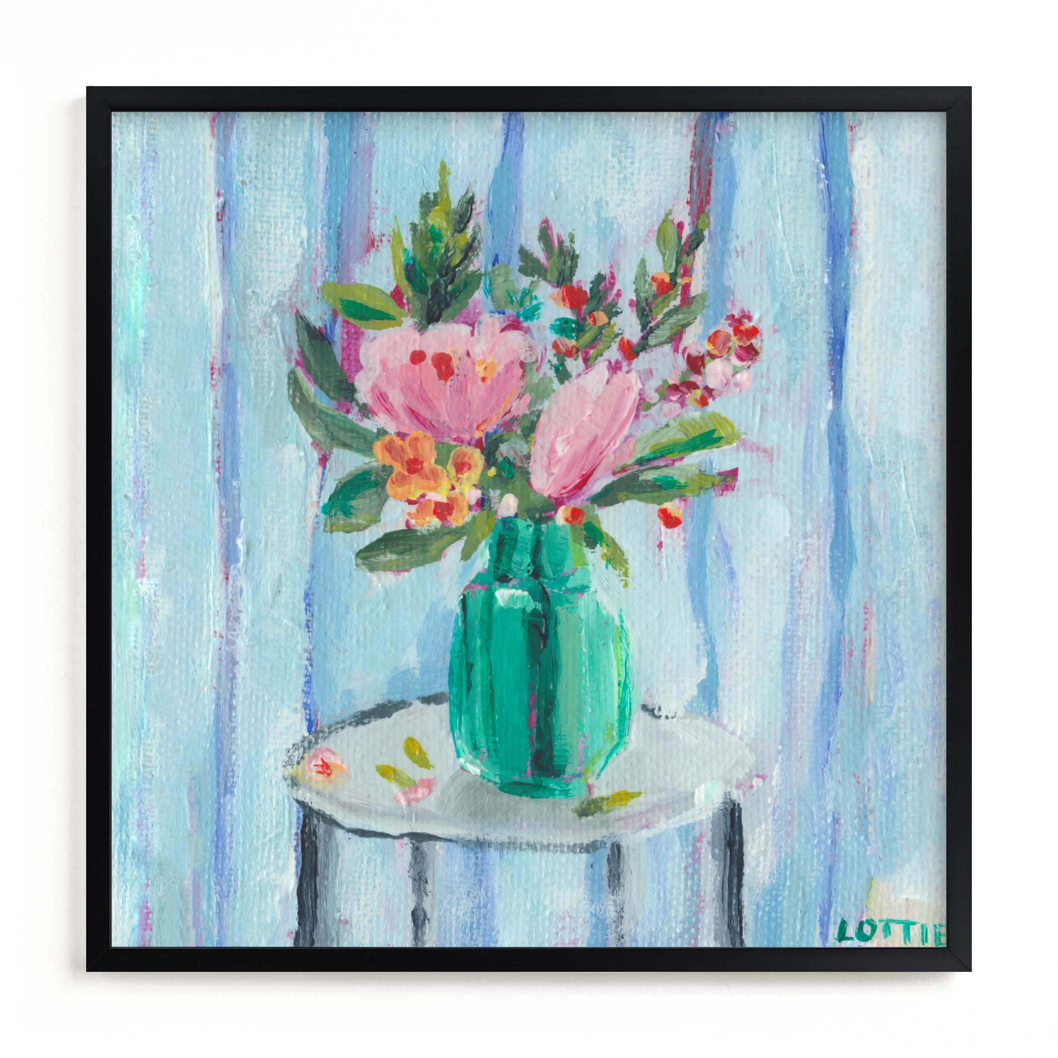 """""""Oh Happy Days"""" by Lottie Aldarwish in beautiful frame options and a variety of sizes."""