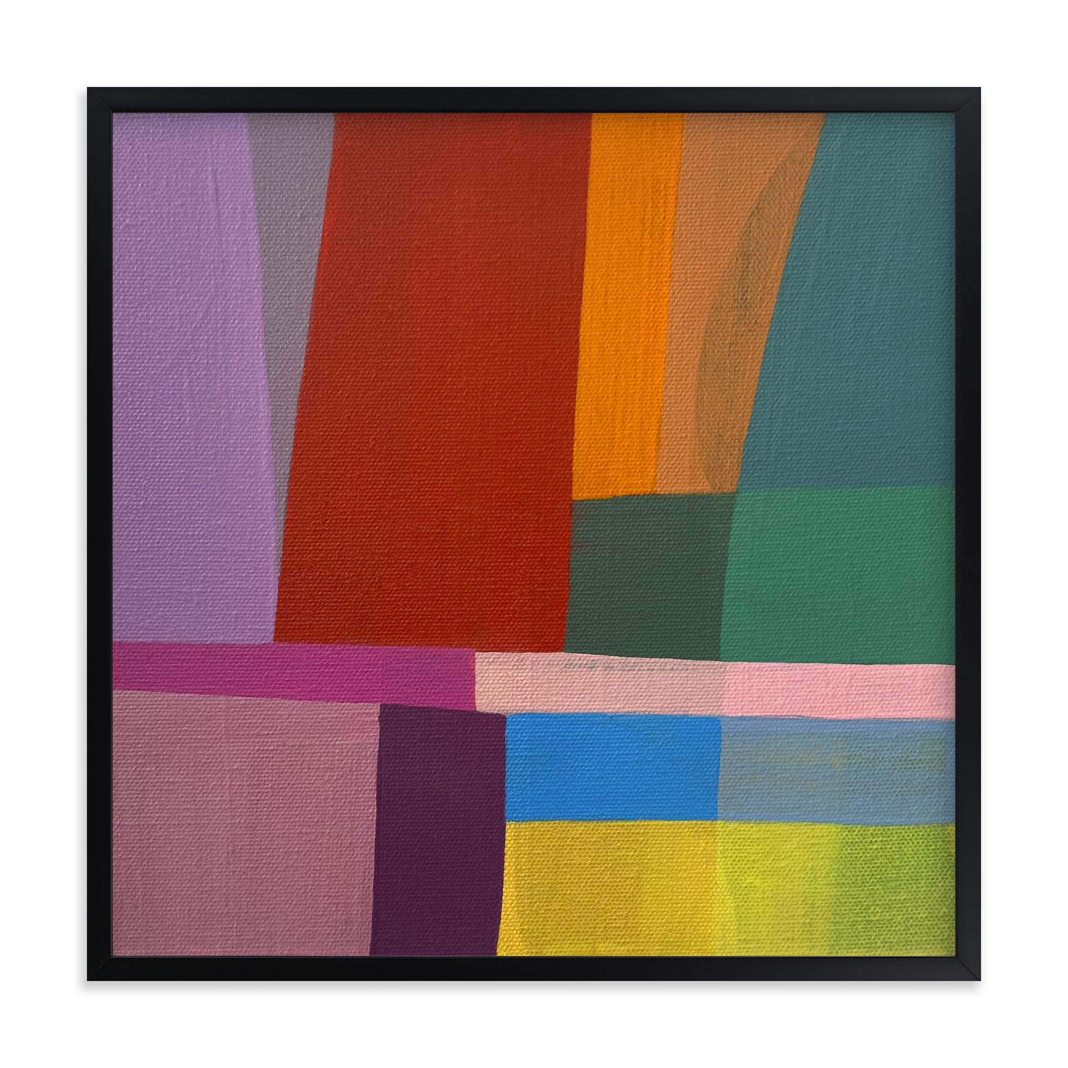 """""""Shape Of Memory"""" by Poppy Dodge in beautiful frame options and a variety of sizes."""