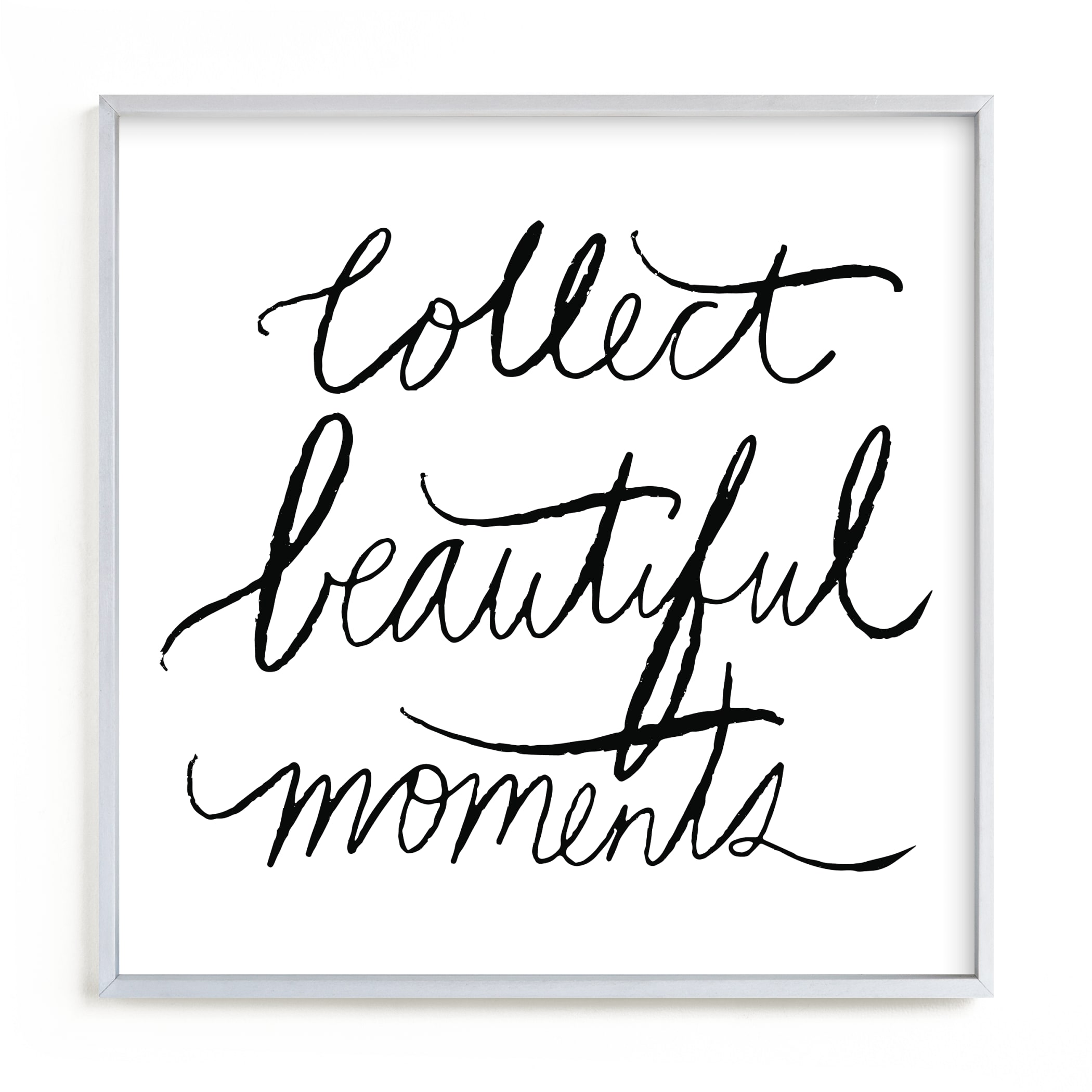 """""""collect beautiful moments"""" - Limited Edition Art Print by Vivian Yiwing in beautiful frame options and a variety of sizes."""