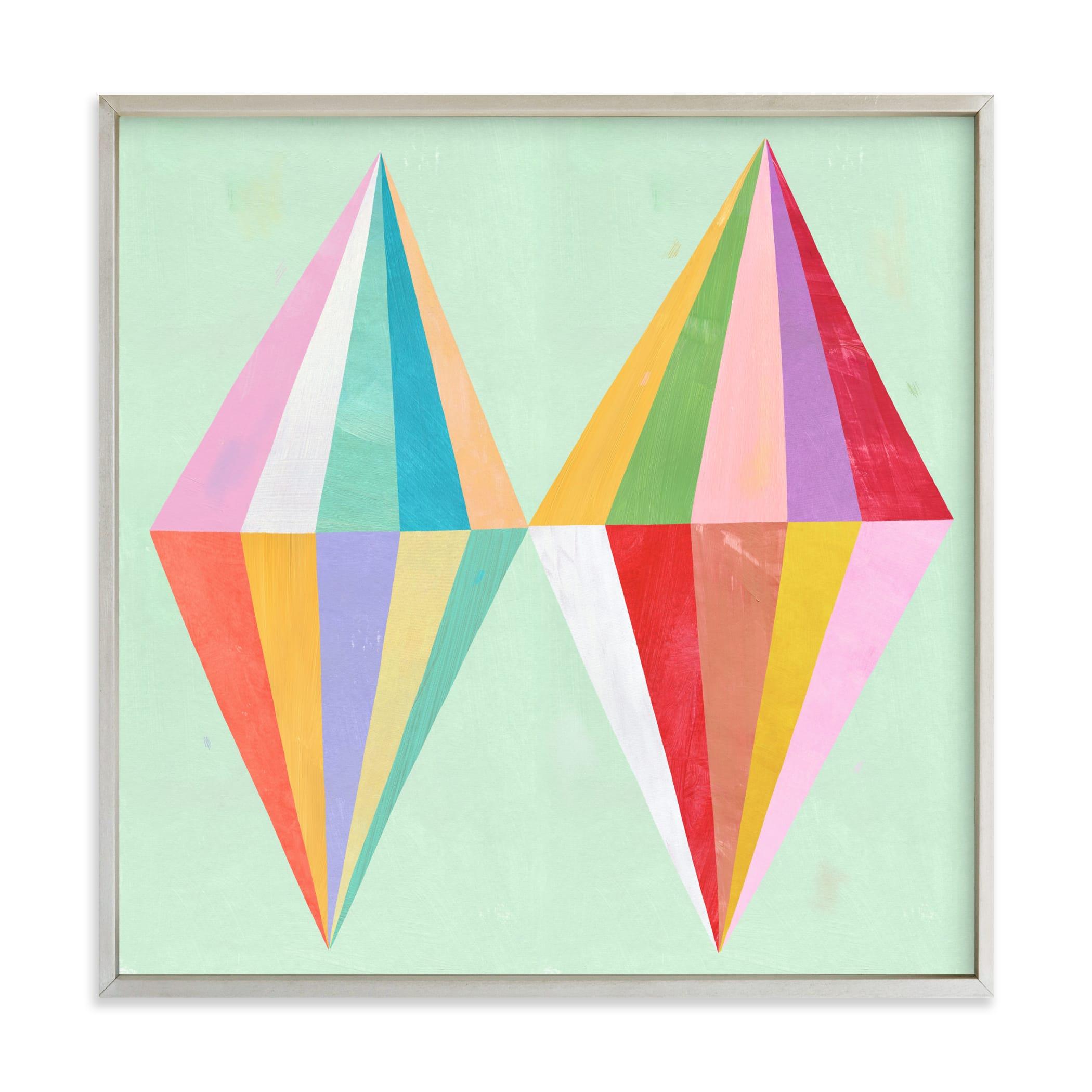 Two Diamonds Children's Art Print