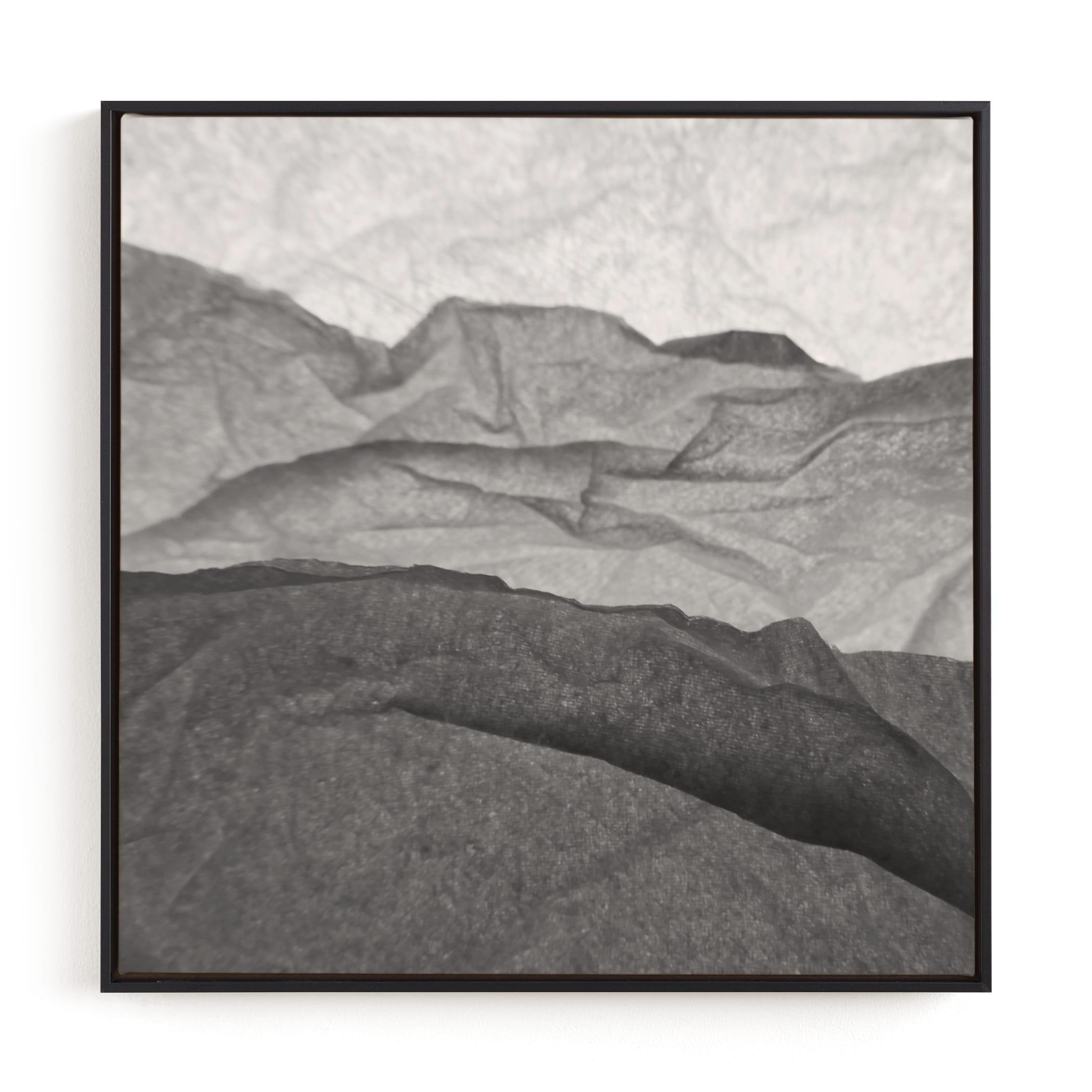 Paper Napkin Panorama III Wall Art Print