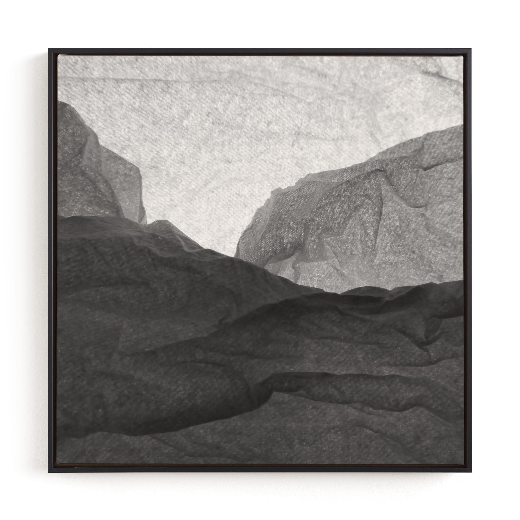 Paper Napkin Panorama I Wall Art Print