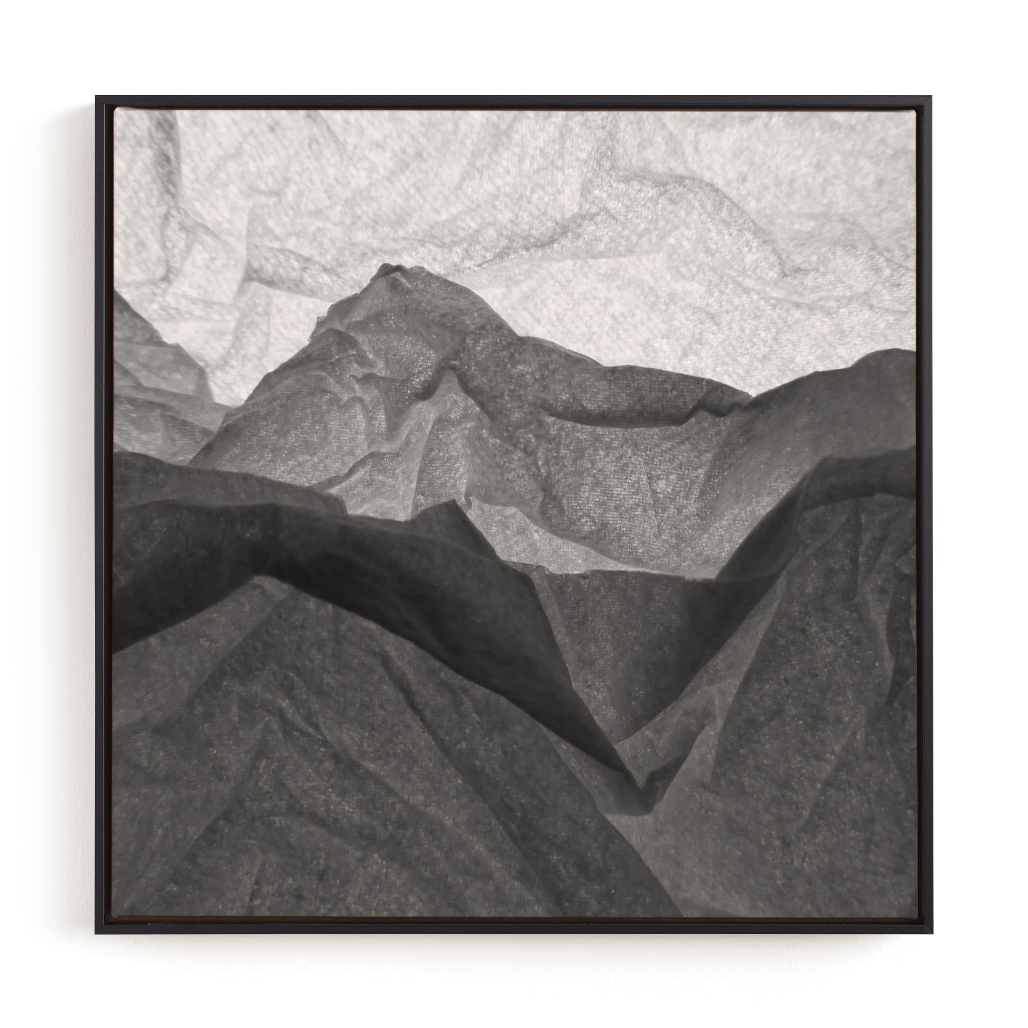 Paper Napkin Panorama II Wall Art Print