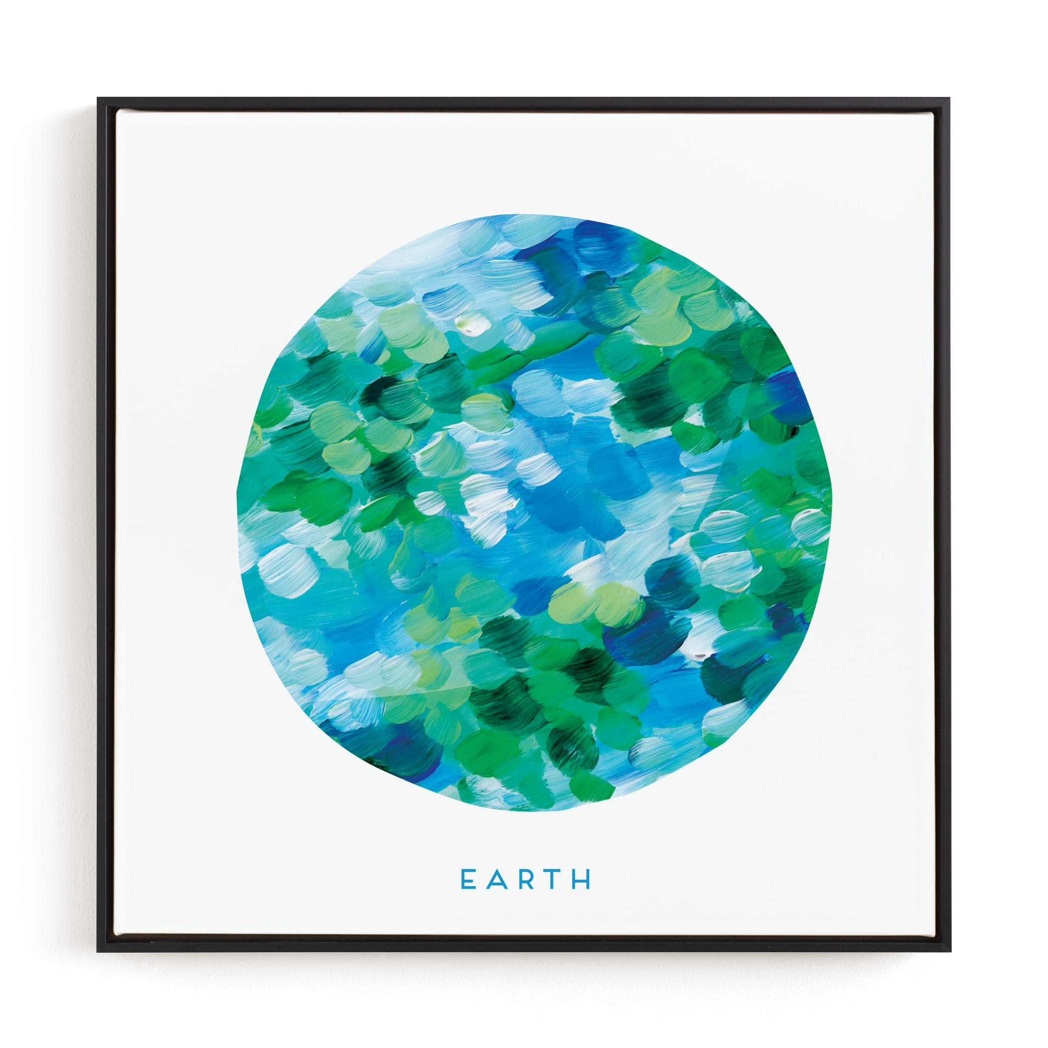 Painted Earth Children's Art Print