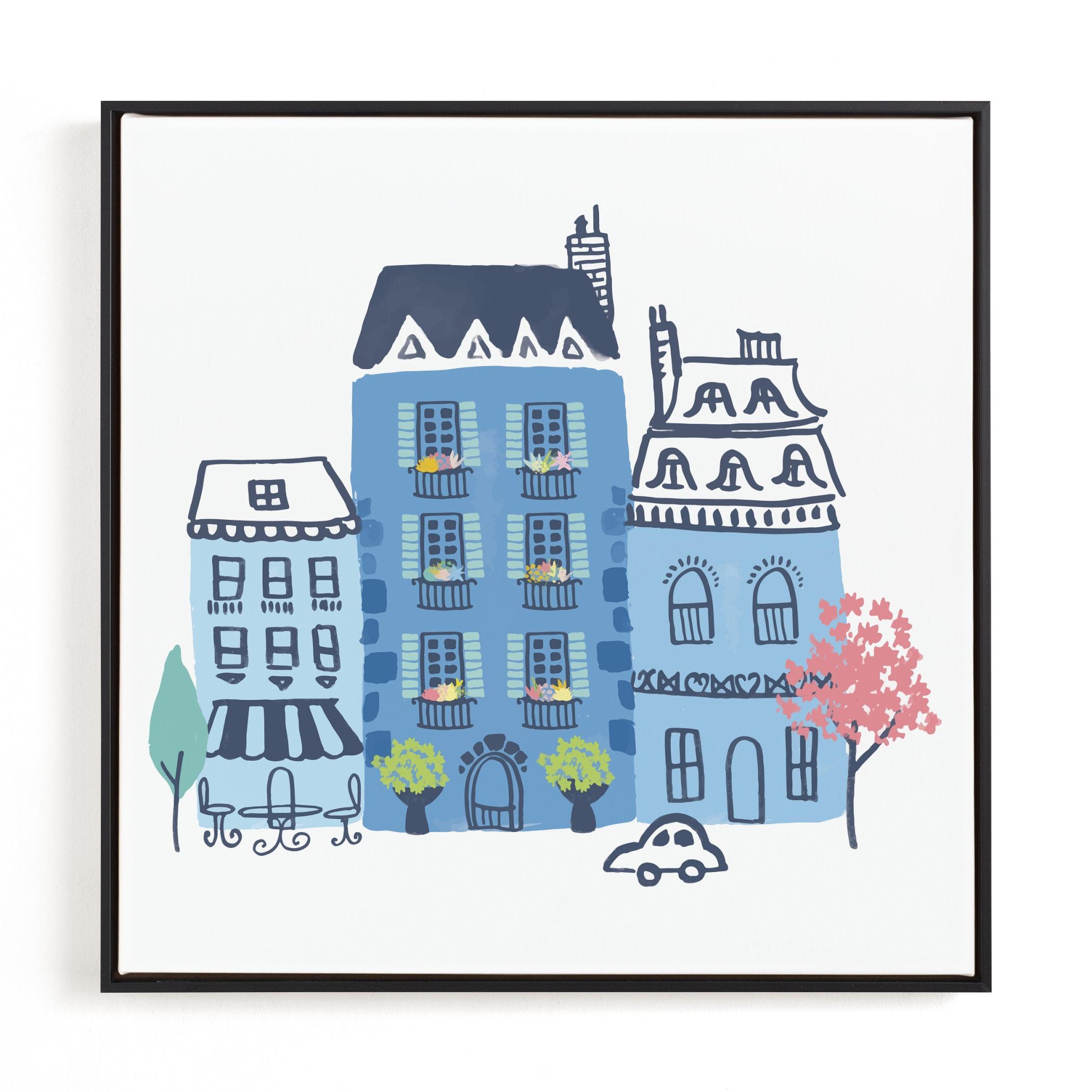 Paris, J'adore Children's Art Print