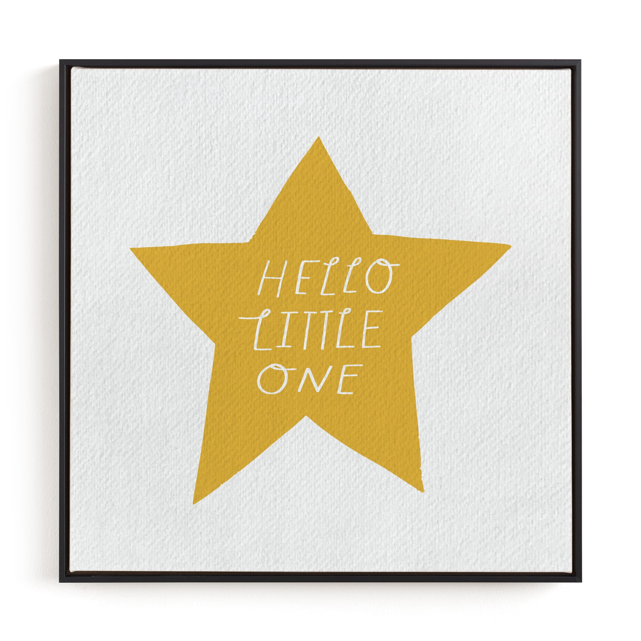 Hello Little One Nursery Art Print