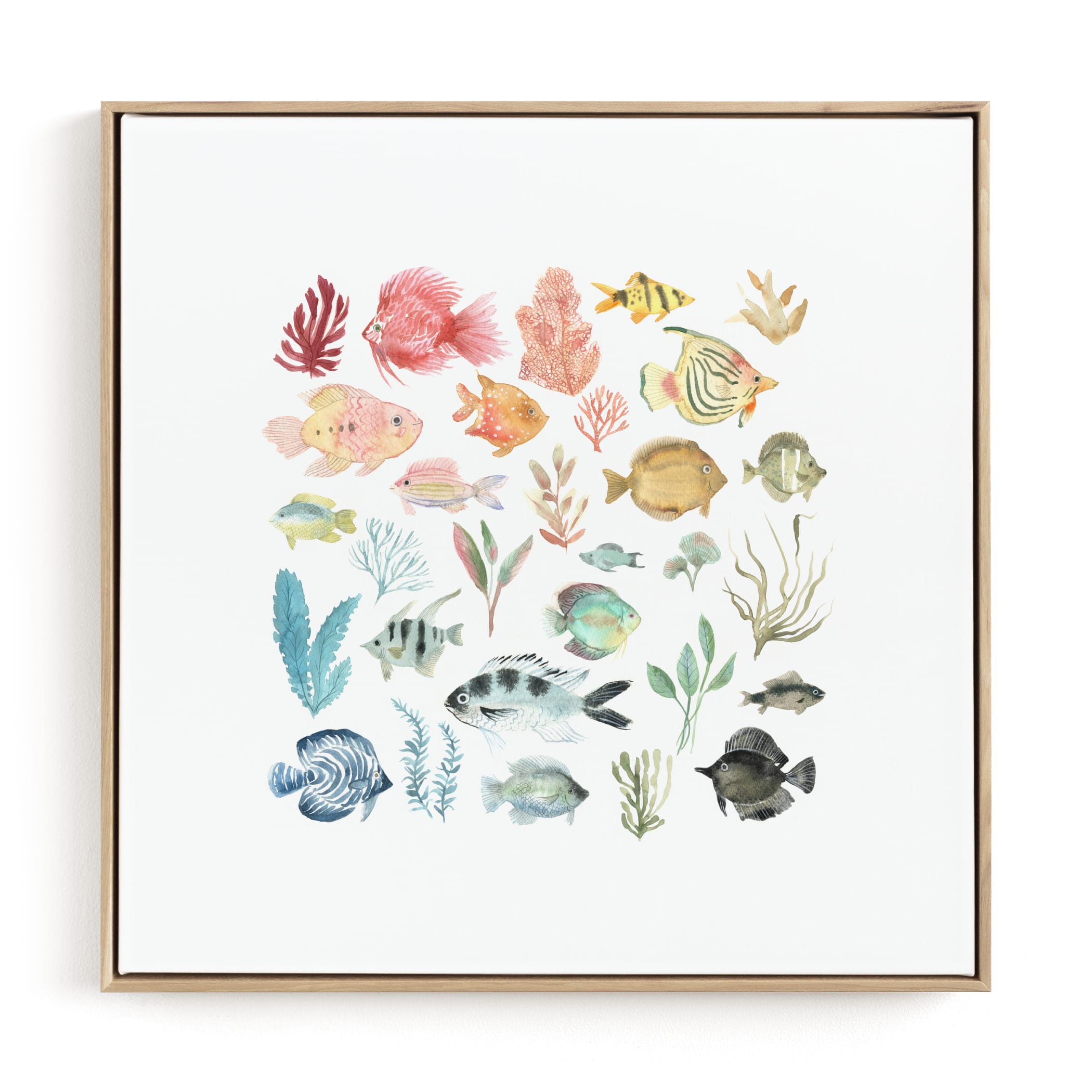 Tropical Fish Children's Art Print