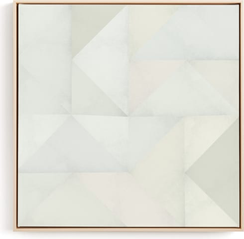 This is a grey art by Leanne Friedberg called quilt block 01.