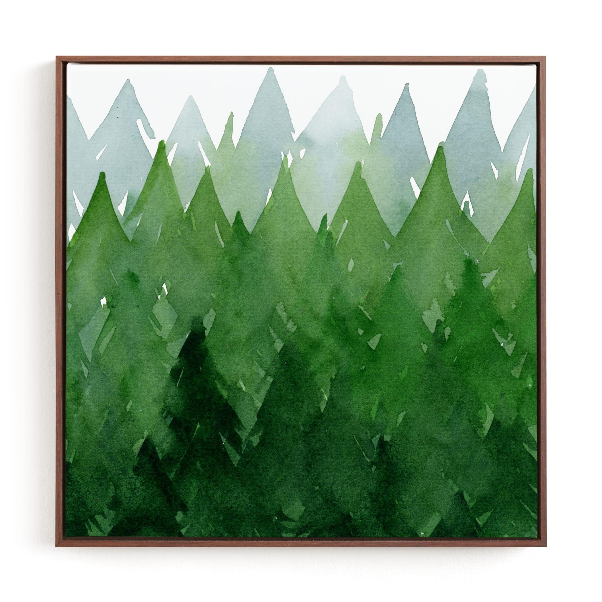 Forest Children's Art Print
