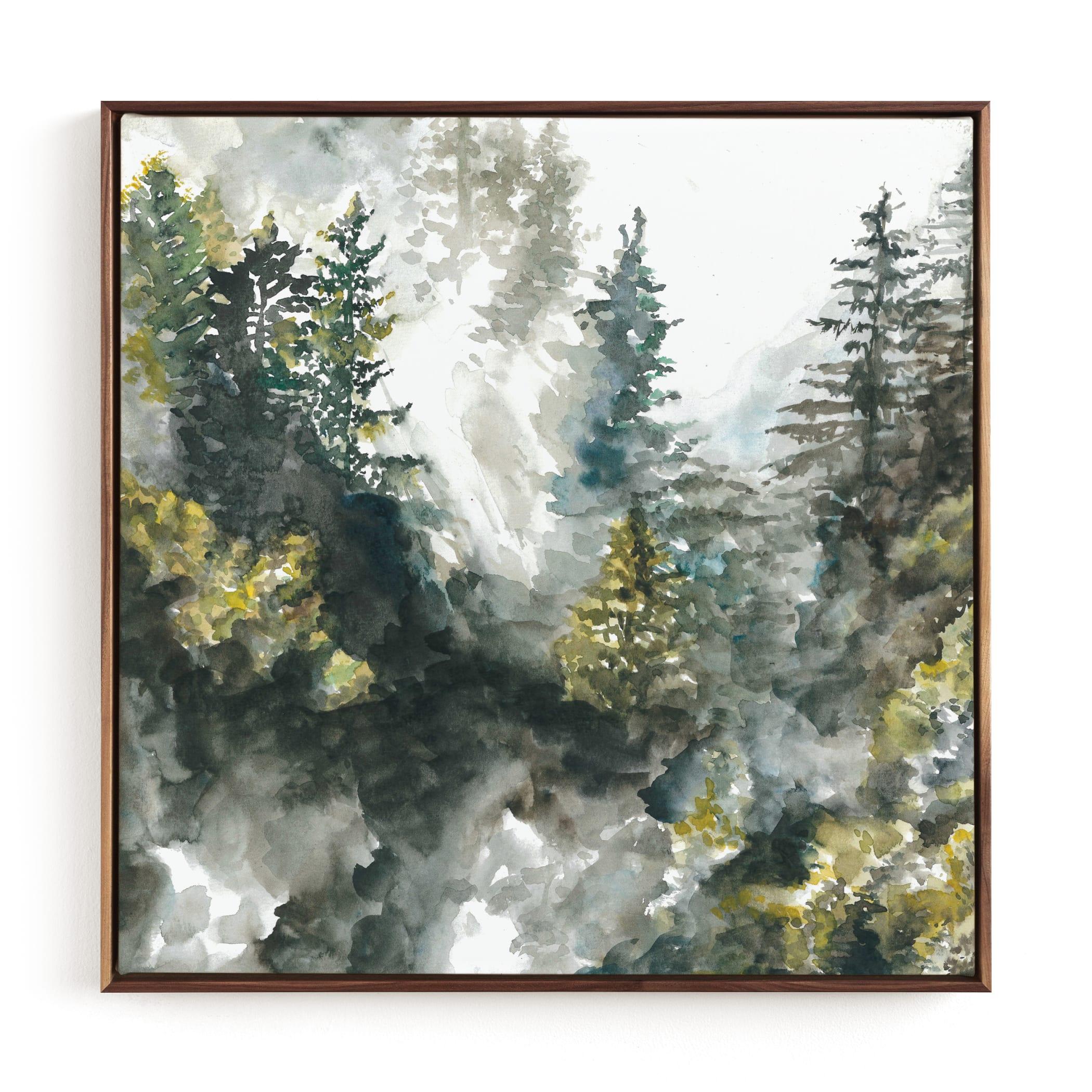 Forest Mist Children's Art Print