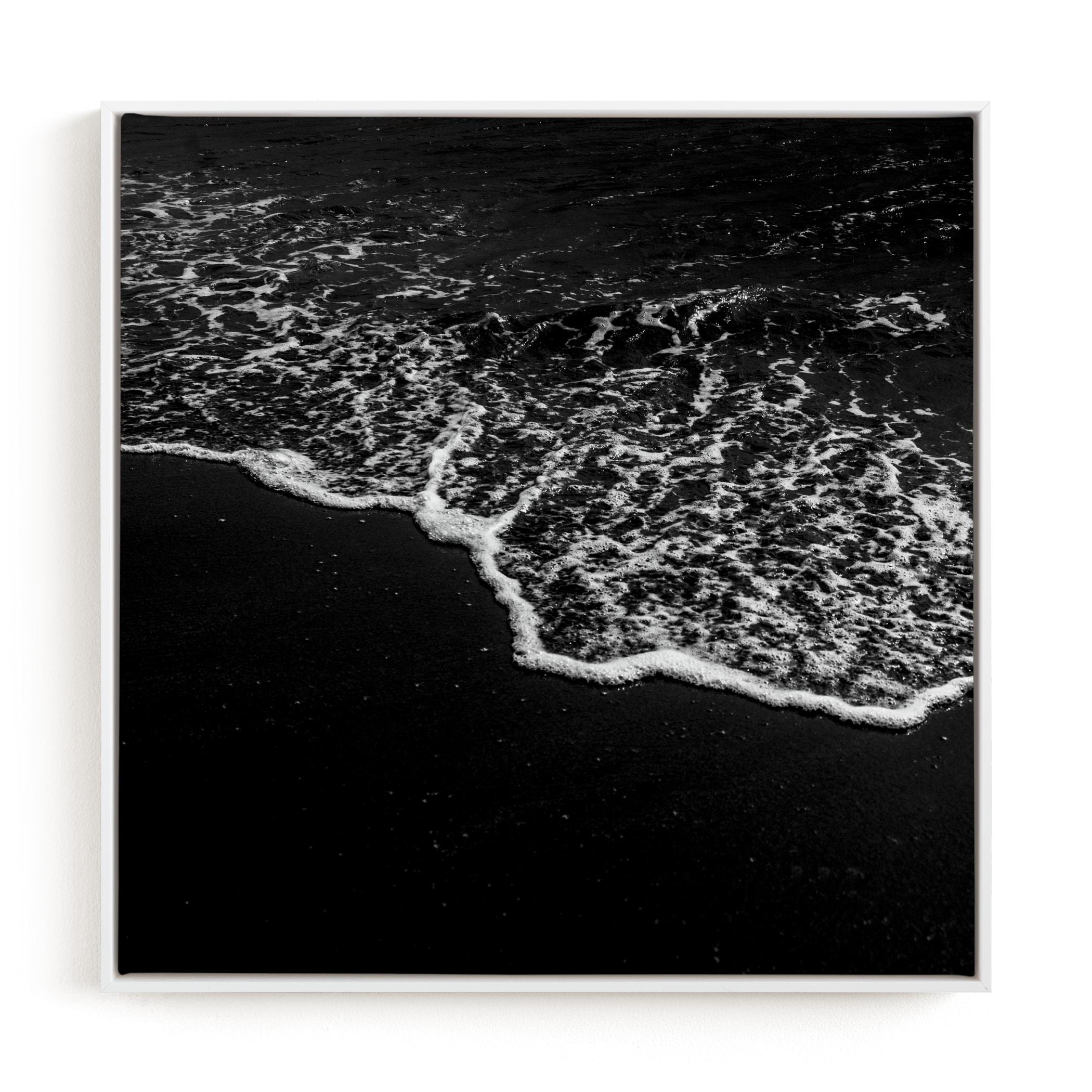 Obsidian Tide 2 Art Print