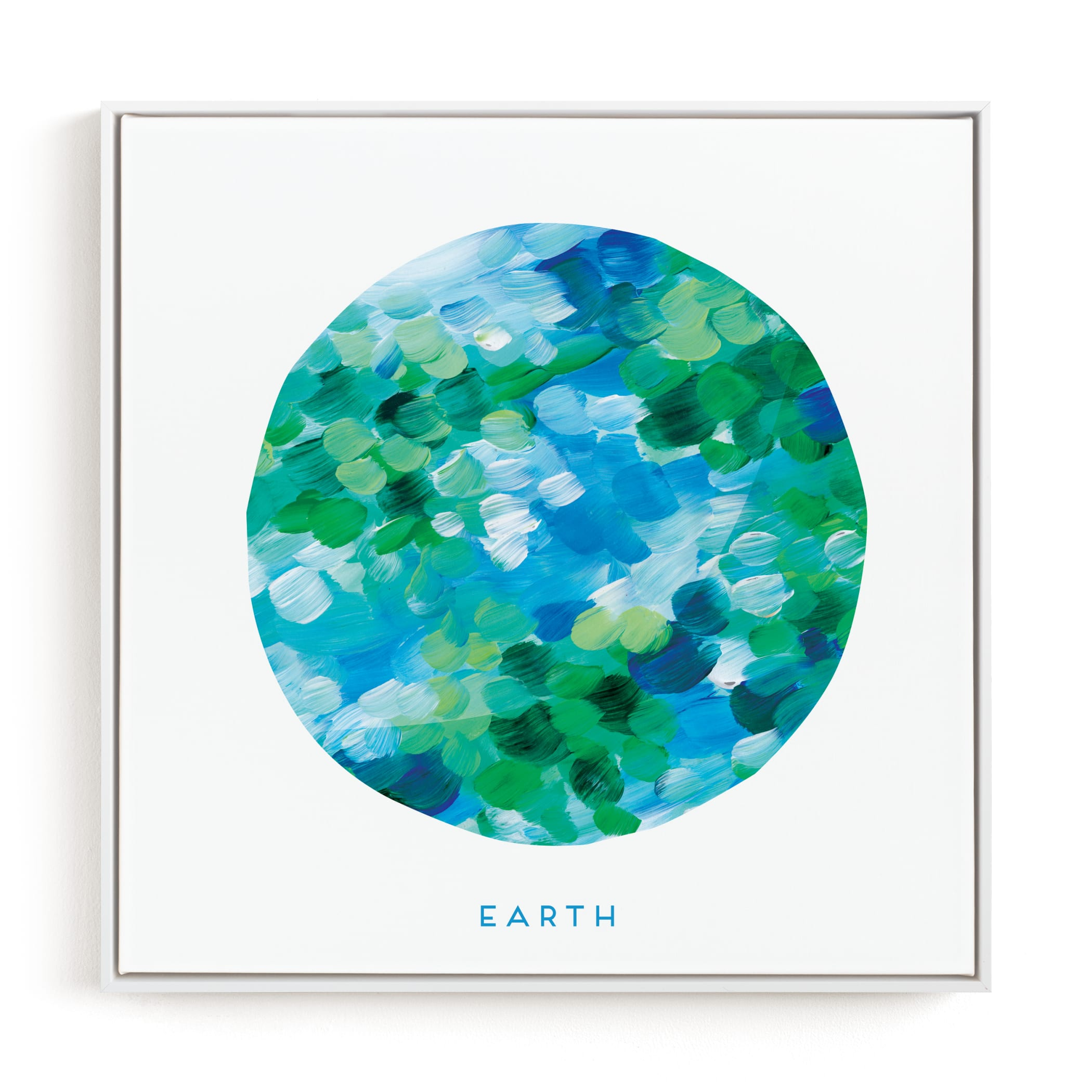 """Painted Earth"" - Limited Edition Art Print by Holly Whitcomb in beautiful frame options and a variety of sizes."