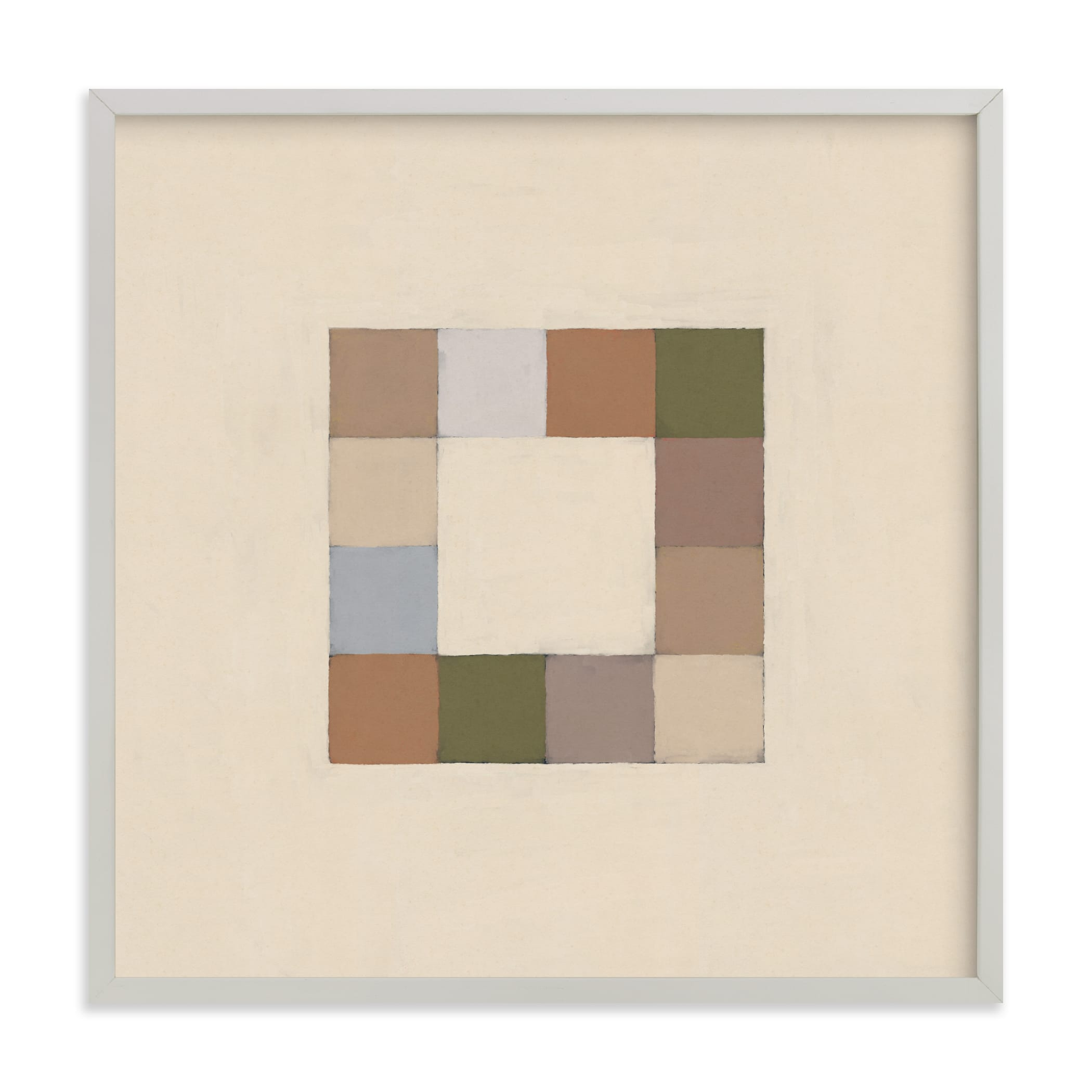"""""""Squares"""" - Limited Edition Art Print by Alisa Galitsyna in beautiful frame options and a variety of sizes."""