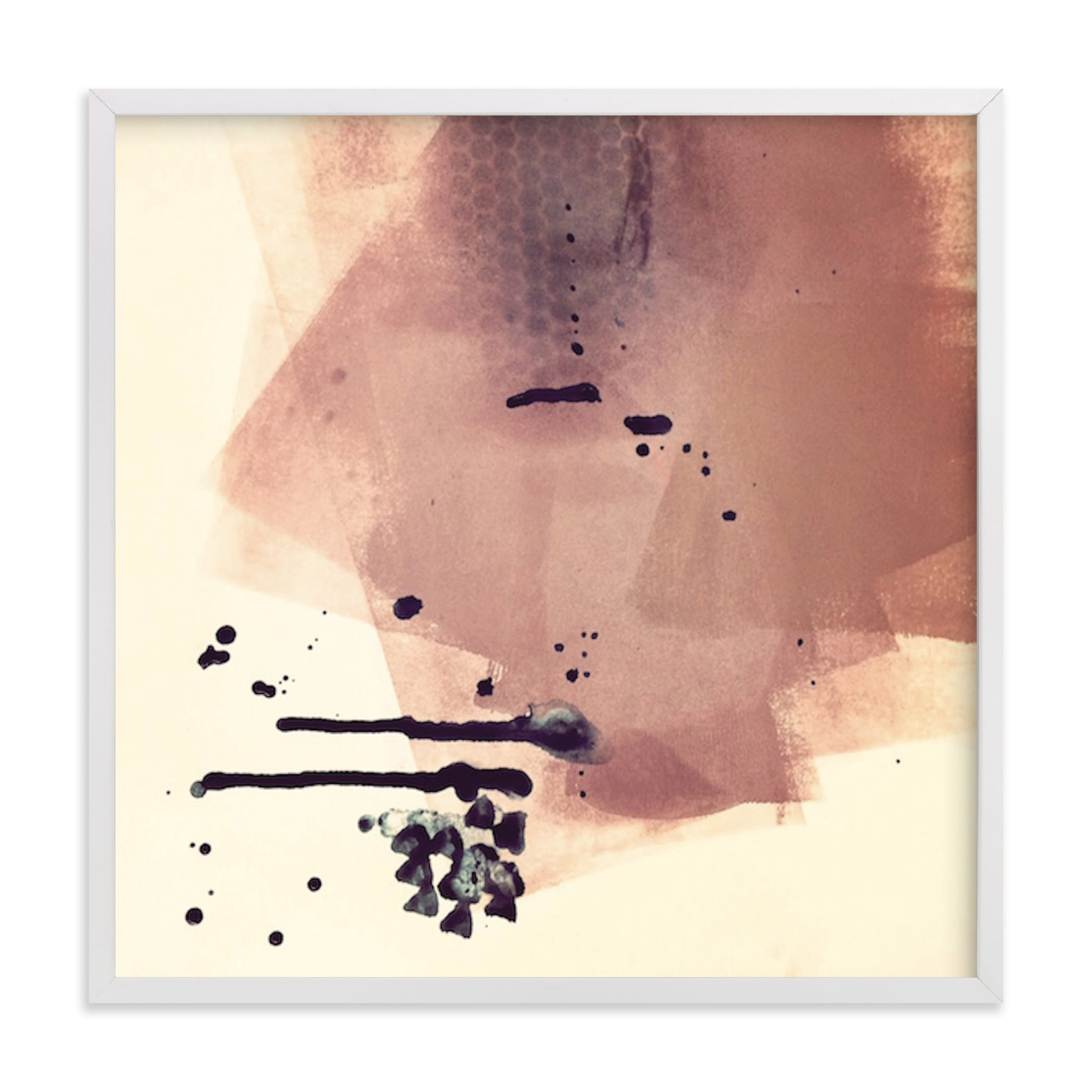 """""""There's A Lot Going On Underneath"""" - Limited Edition Art Print by Lauren Packard in beautiful frame options and a variety of sizes."""