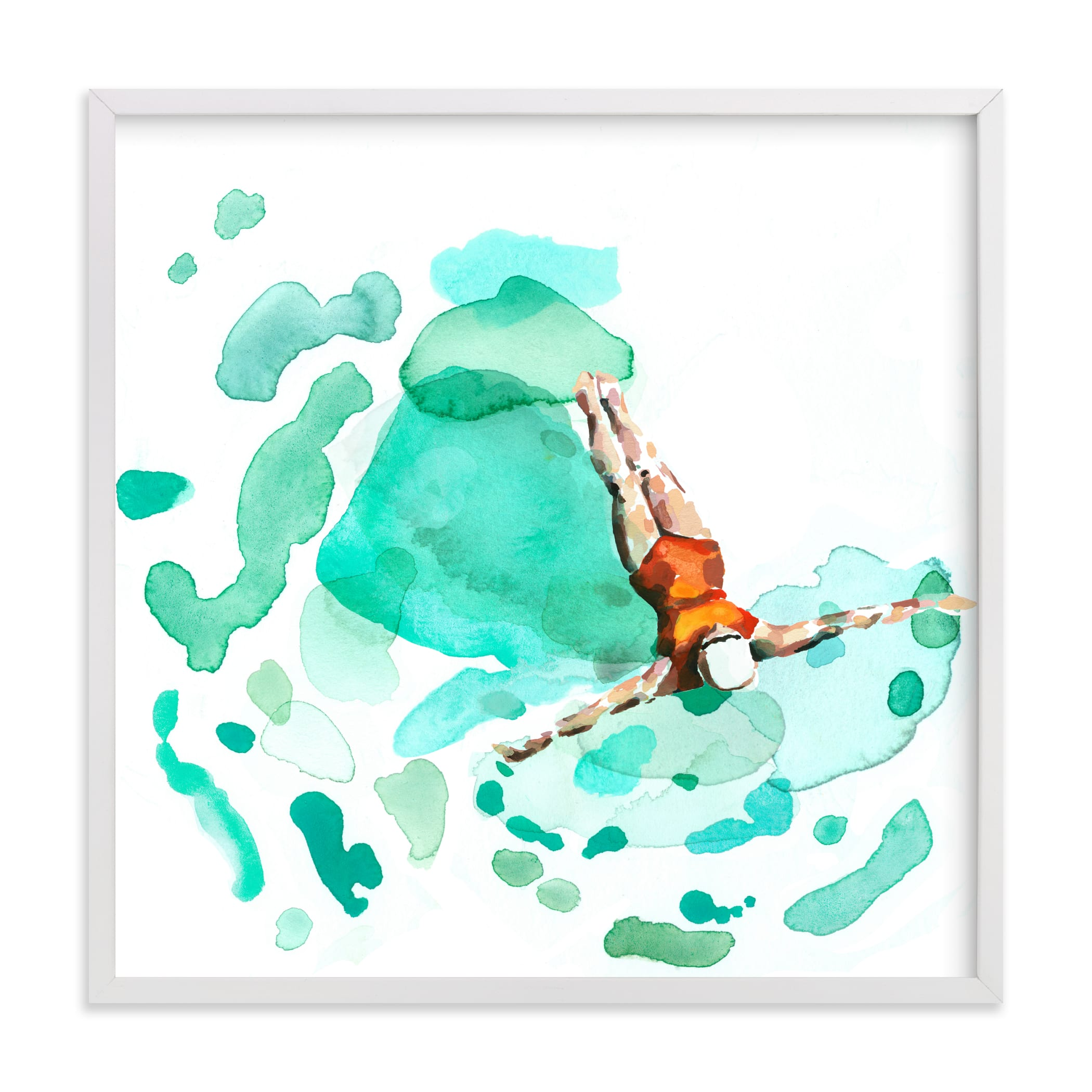 """""""Float"""" - Limited Edition Art Print by Betty Hatchett in beautiful frame options and a variety of sizes."""
