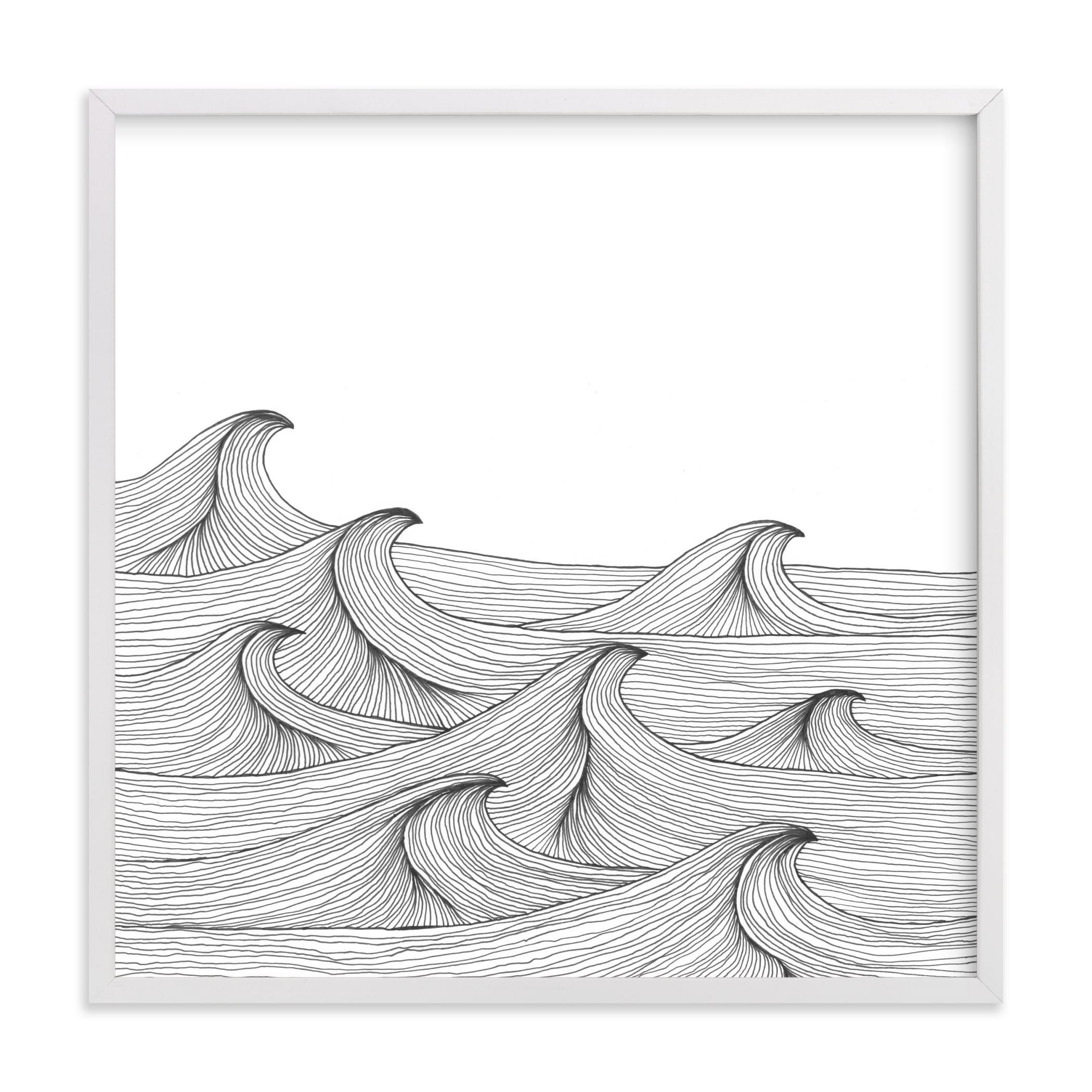 """""""drift"""" - Limited Edition Art Print by Naomi Ernest in beautiful frame options and a variety of sizes."""