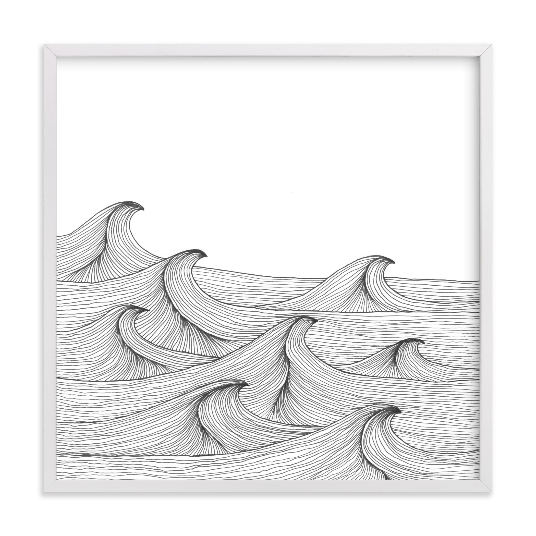 drift Art Print