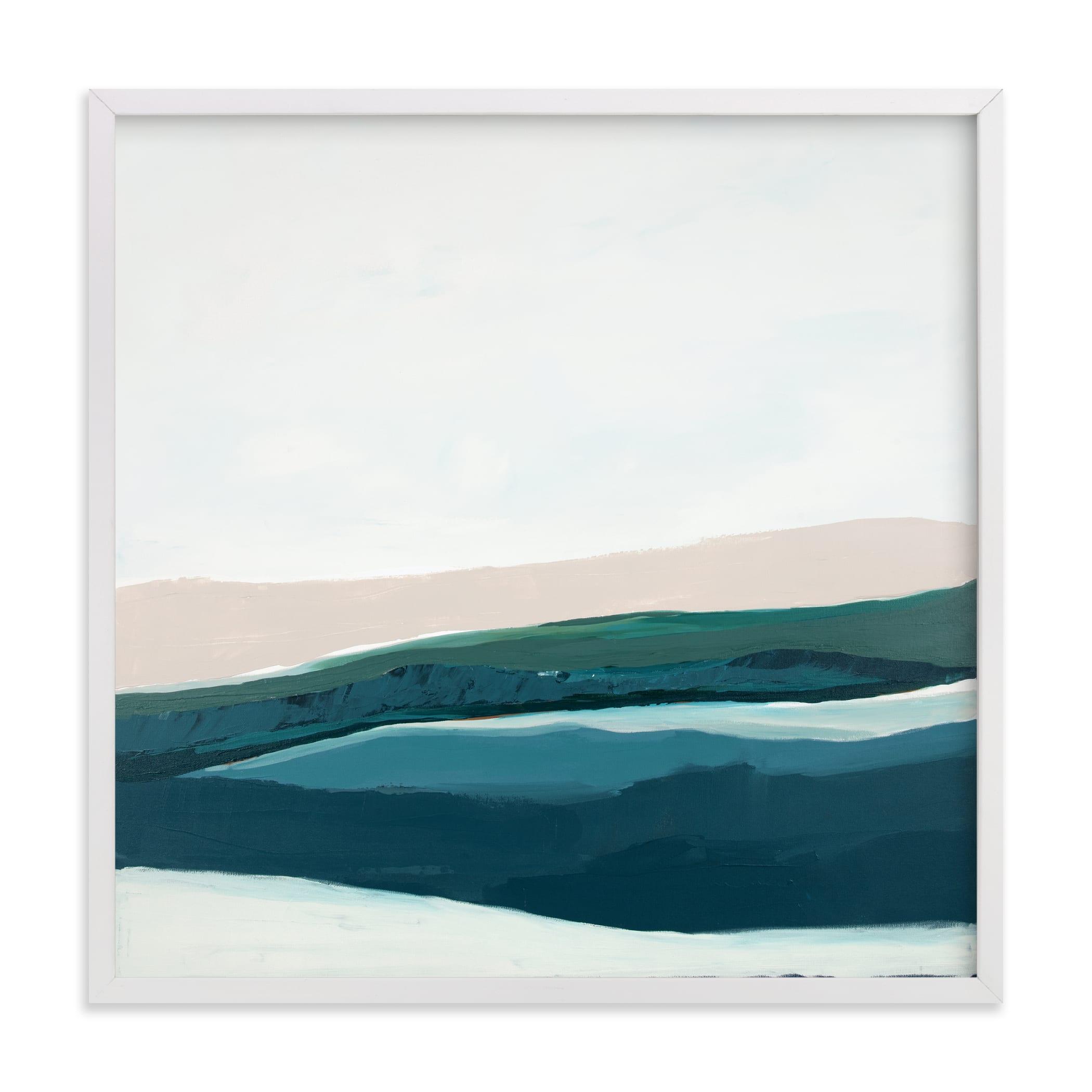 Seascape at Dusk Art Print