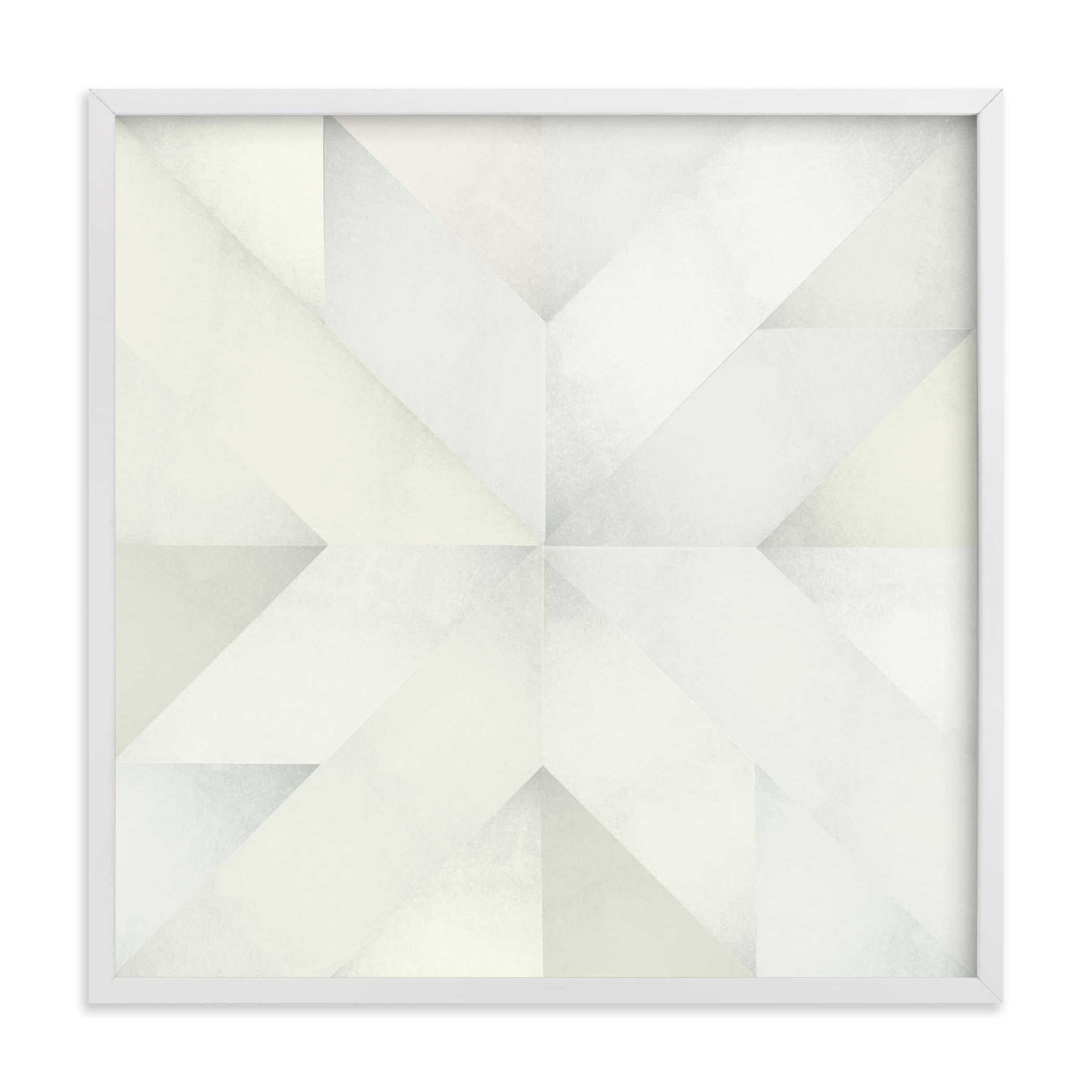quilt block 03 Art Print