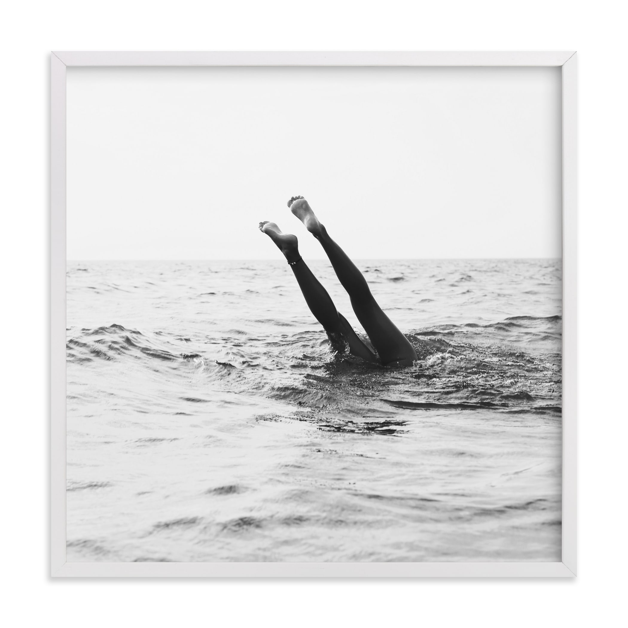 """""""Summer Handstand"""" - Limited Edition Art Print by ALICIA BOCK in beautiful frame options and a variety of sizes."""