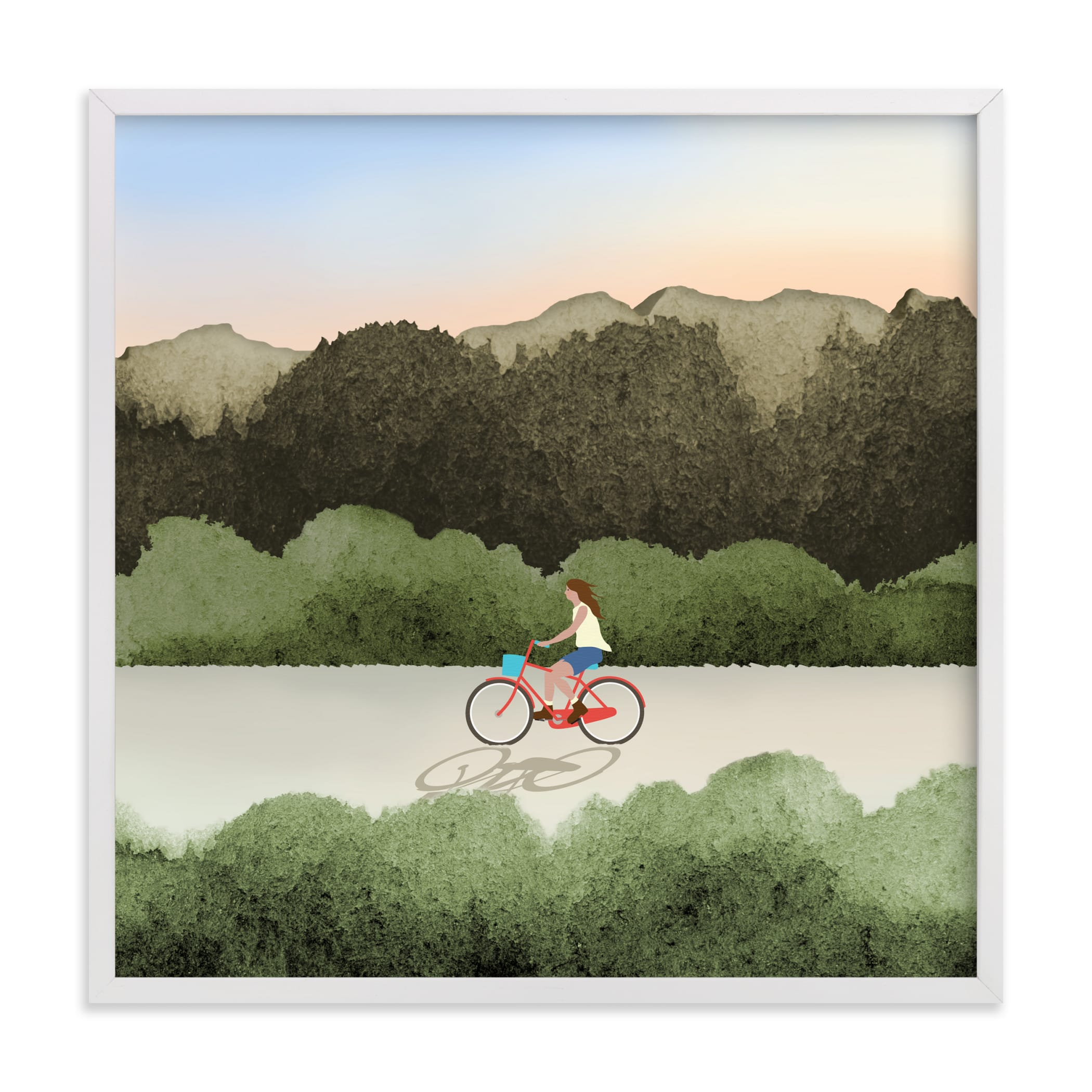 """""""Out Cruising"""" by Shannon in beautiful frame options and a variety of sizes."""