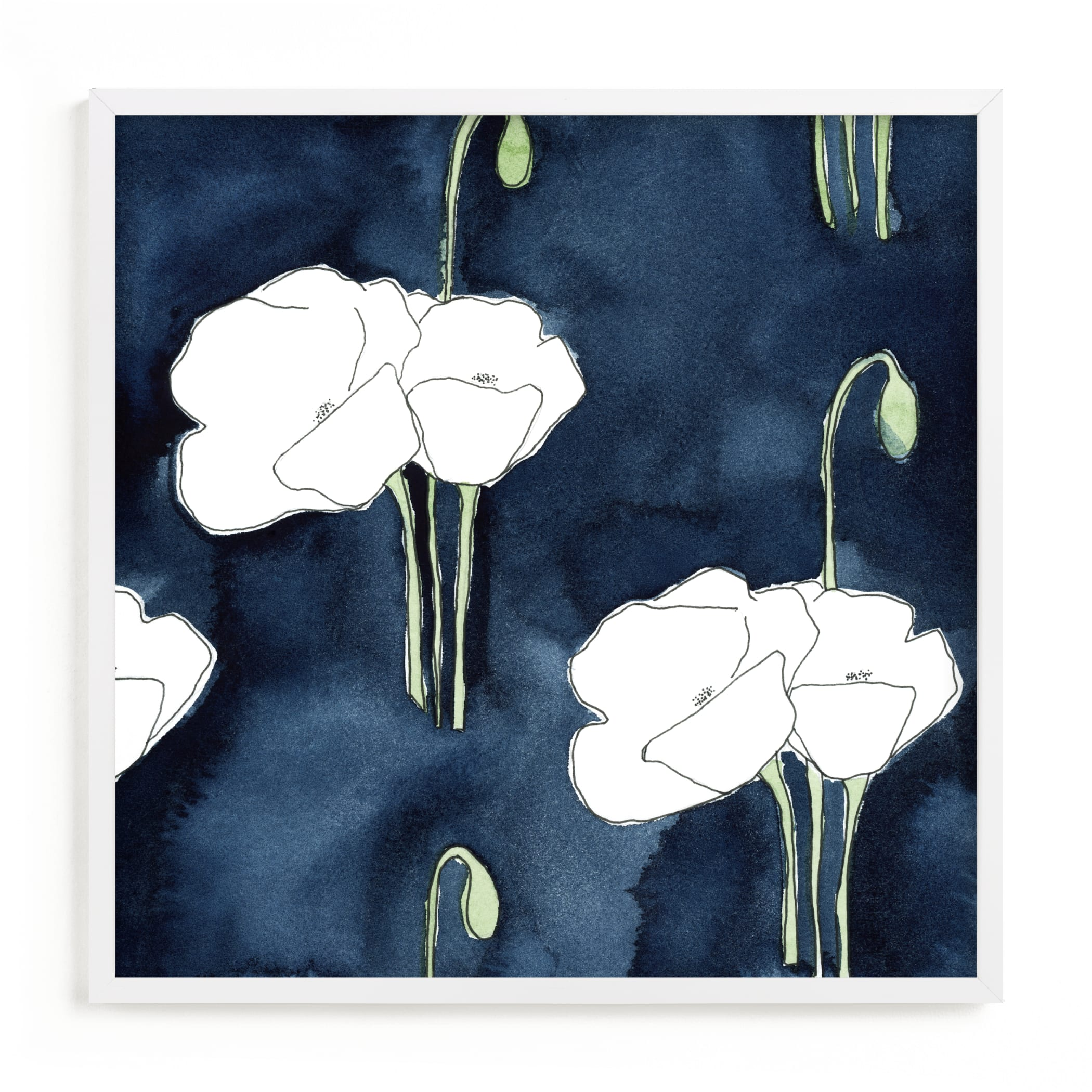 """""""2am Garden Dreams 3"""" by Renee Anne Bouffard-McManus in beautiful frame options and a variety of sizes."""