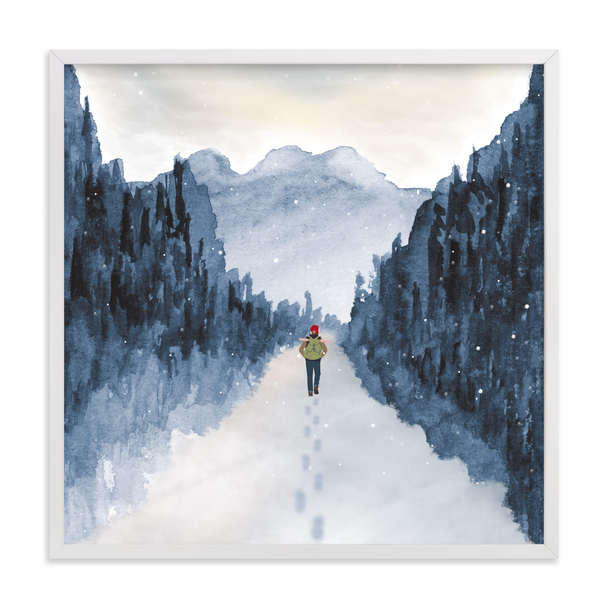 """""""Piece of Quiet"""" by Shannon in beautiful frame options and a variety of sizes."""
