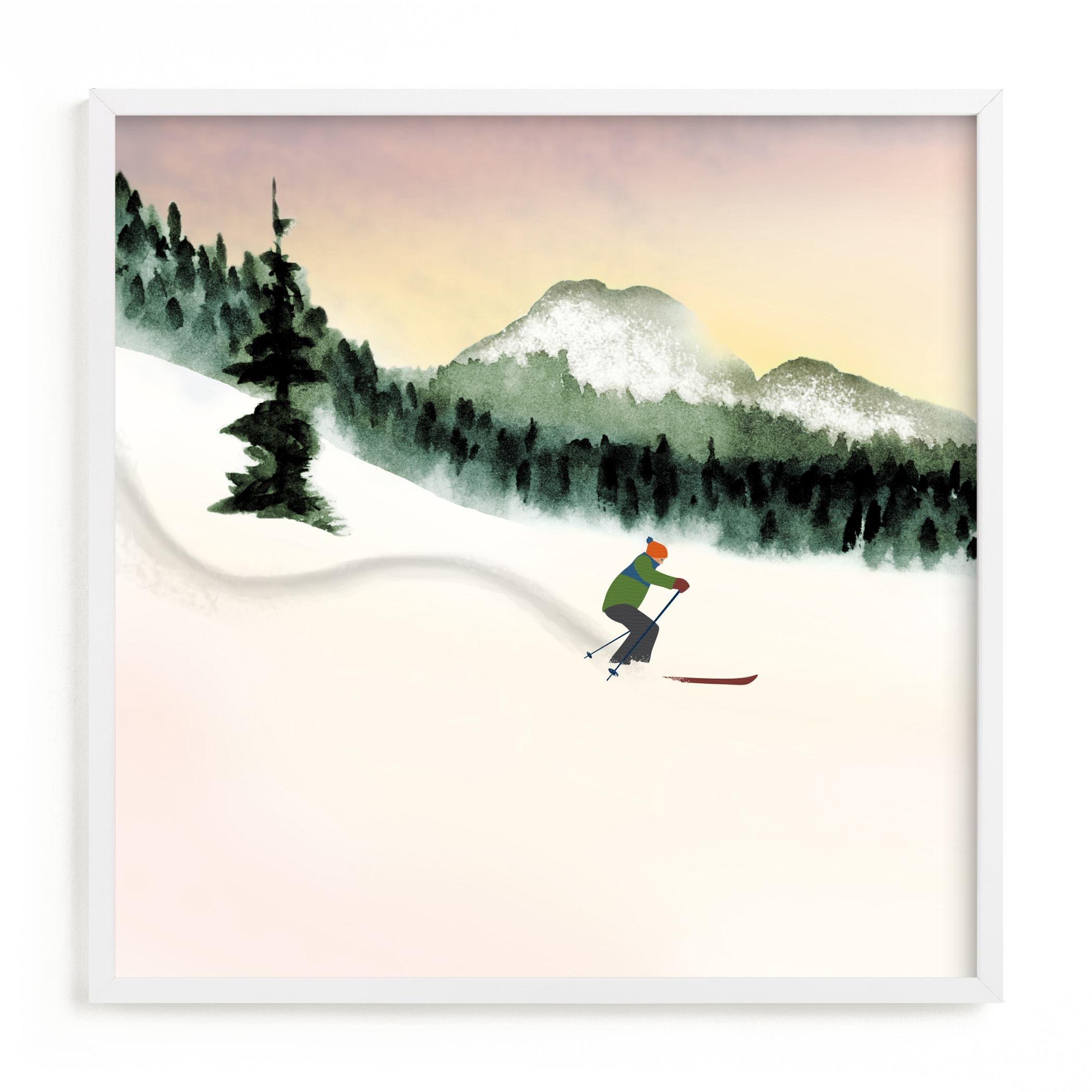 """""""Fresh Track"""" by Shannon in beautiful frame options and a variety of sizes."""